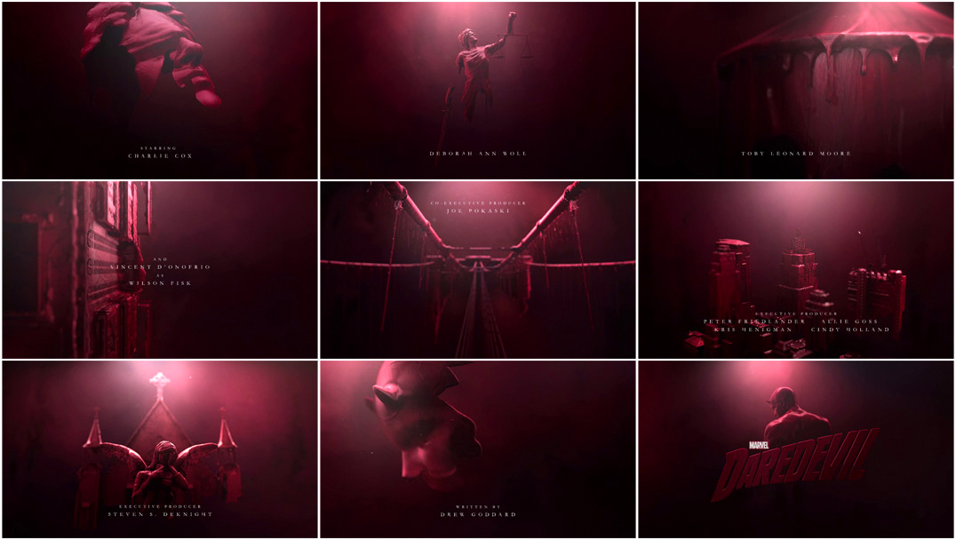 Đoạn opening ấn tượng của series phim truyền hình Daredevil