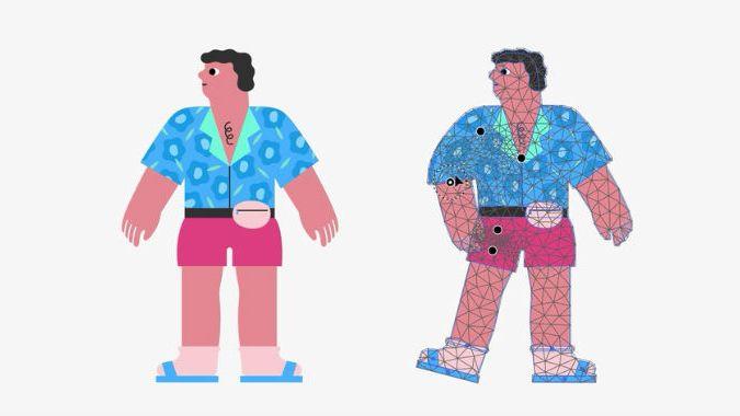 Mãi đến tận bây giừo Illustrator mới cập nhật Puppet Warp