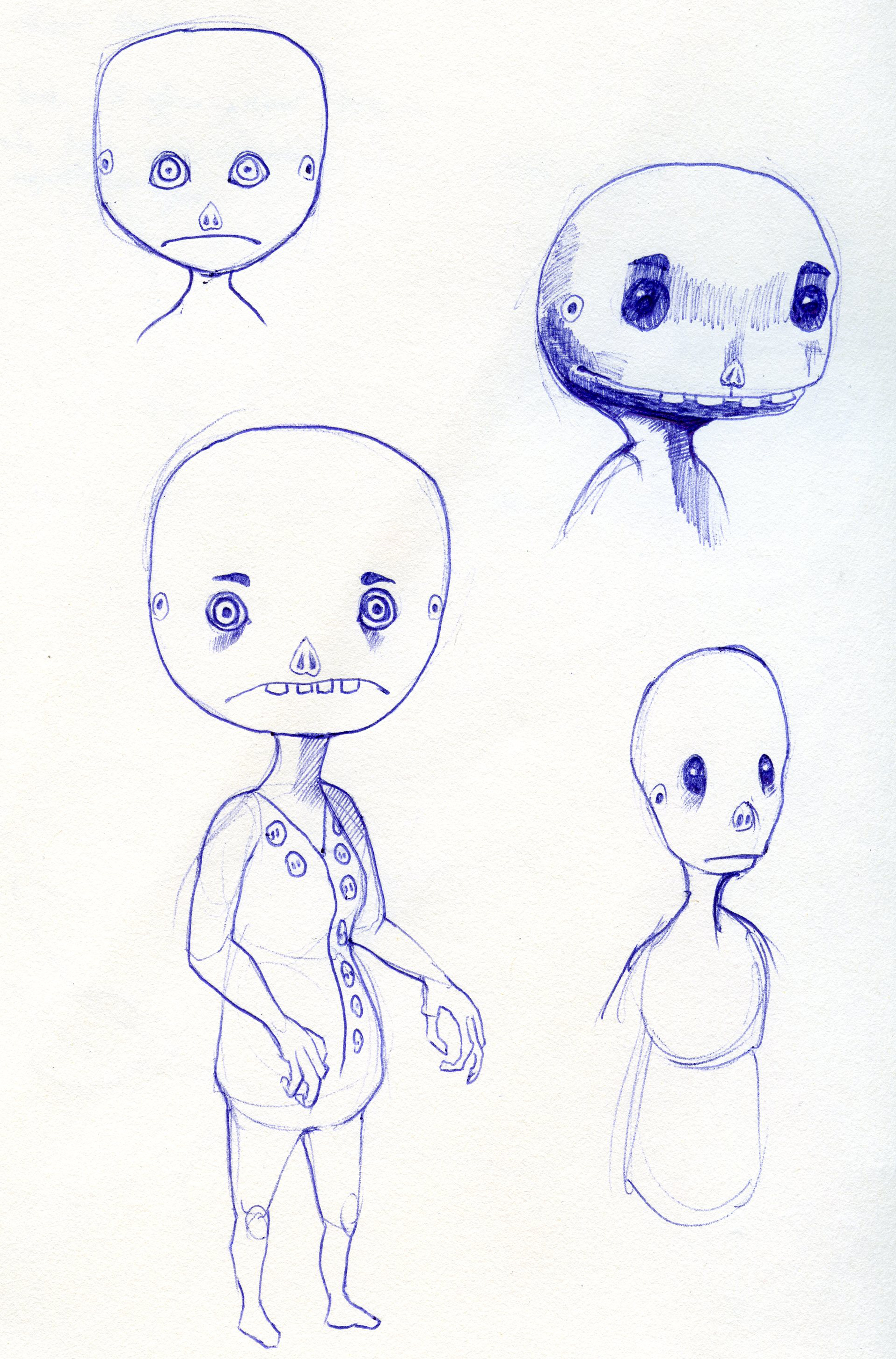Concept art: The Ghoul