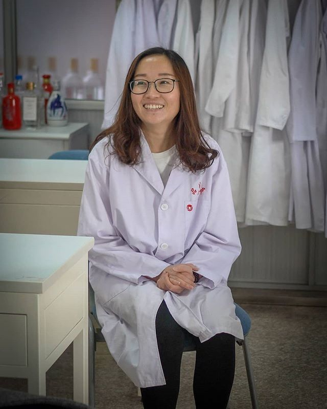 "This is Bowen Hu, the master blender who helped make Ganbei Baijiu a reality.  She is a Nationally Qualified Liquor Blender and Taster, a prestigious job in China where baijiu is the National Spirit.  She developed a love for baijiu while she was in college studying to be a food scientist and when she left school 8 years ago, she found a job at our distillery partner, Hetao.  She says she loves baijiu because, ""Baijiu is a kind of liquor that enhances the bonding between people. There is a saying: No baijiu, no banquet. Whenever you have friends over, you need to treat them with baijiu."" #ganbei #ganbeibaijiu #baijiu #spirits #drinkganbei #china #imbibe #liquor #alcohol #chinese #cheers #drinkganbei #bartender #minneapolis #mplsfoodie #mplscocktails #foodieapolis #mnfoodie#白酒 #干杯 #干杯白酒 #中国 #酒 #鸡尾酒"