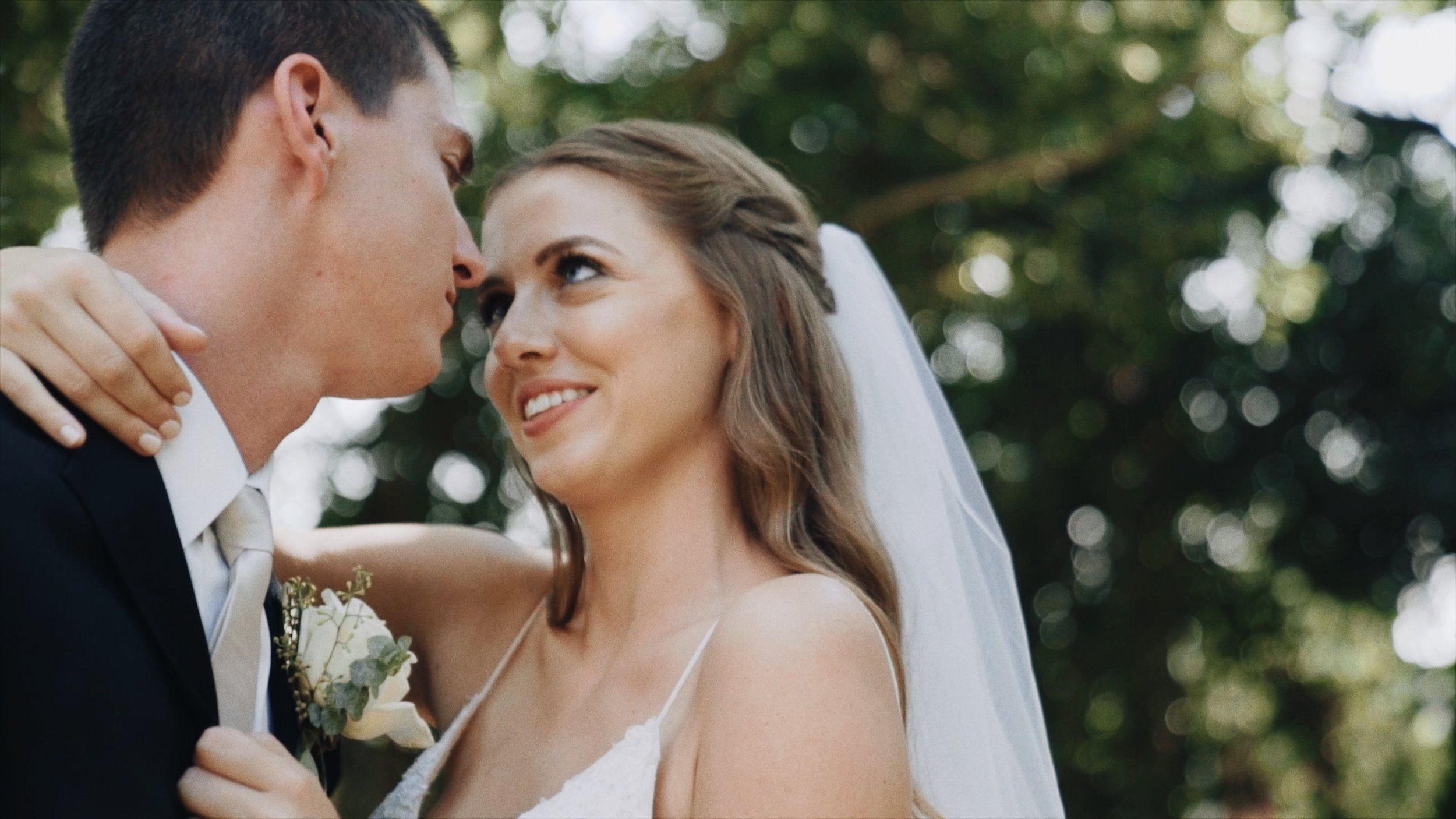 "Late Mississippi Summer Wedding - ""…effortlessly beautiful and genuinely at ease, Mary and Will's first look was one amazing sight to behold… they sincerely love each other…"""