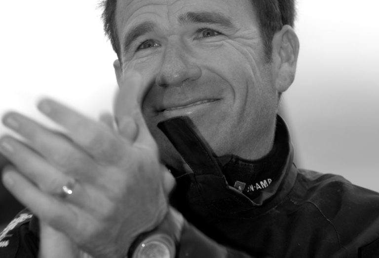 Mike (Moose) Sanderson - CEO Doyle Sails - All Round Yachtsman - awarded the prestigious ISAF World Sailor of the Year Award for winning the 2005–06 Volvo Ocean Race as skipper of ABN Amro