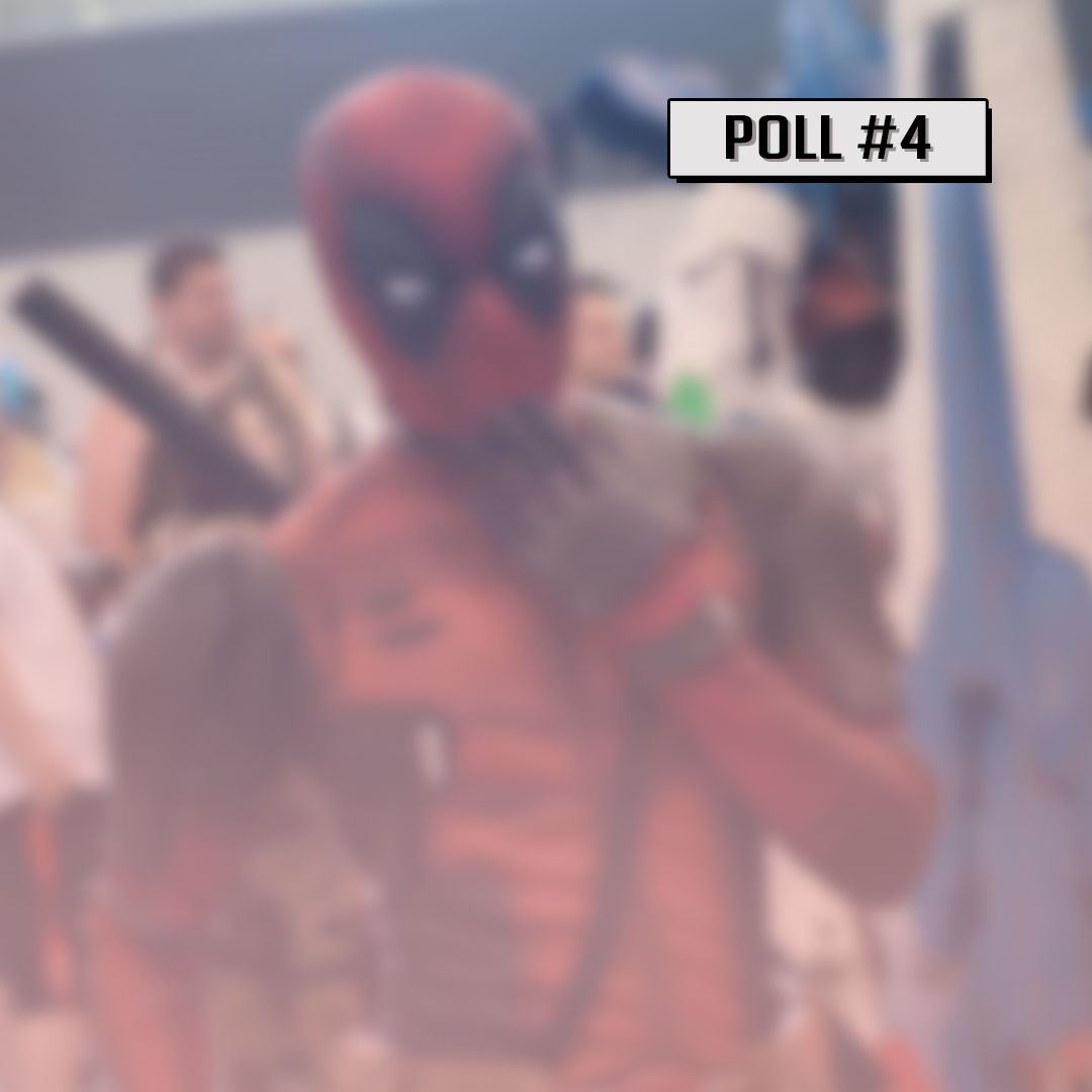 POLL #4 : What is your favorite Super Hero Movie? Share some titles in the comments below! #bkcomiccon