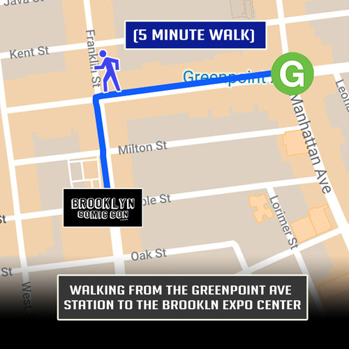 Greenpoint Brooklyn Subway Map.Travel Info Brooklyn Comic Con