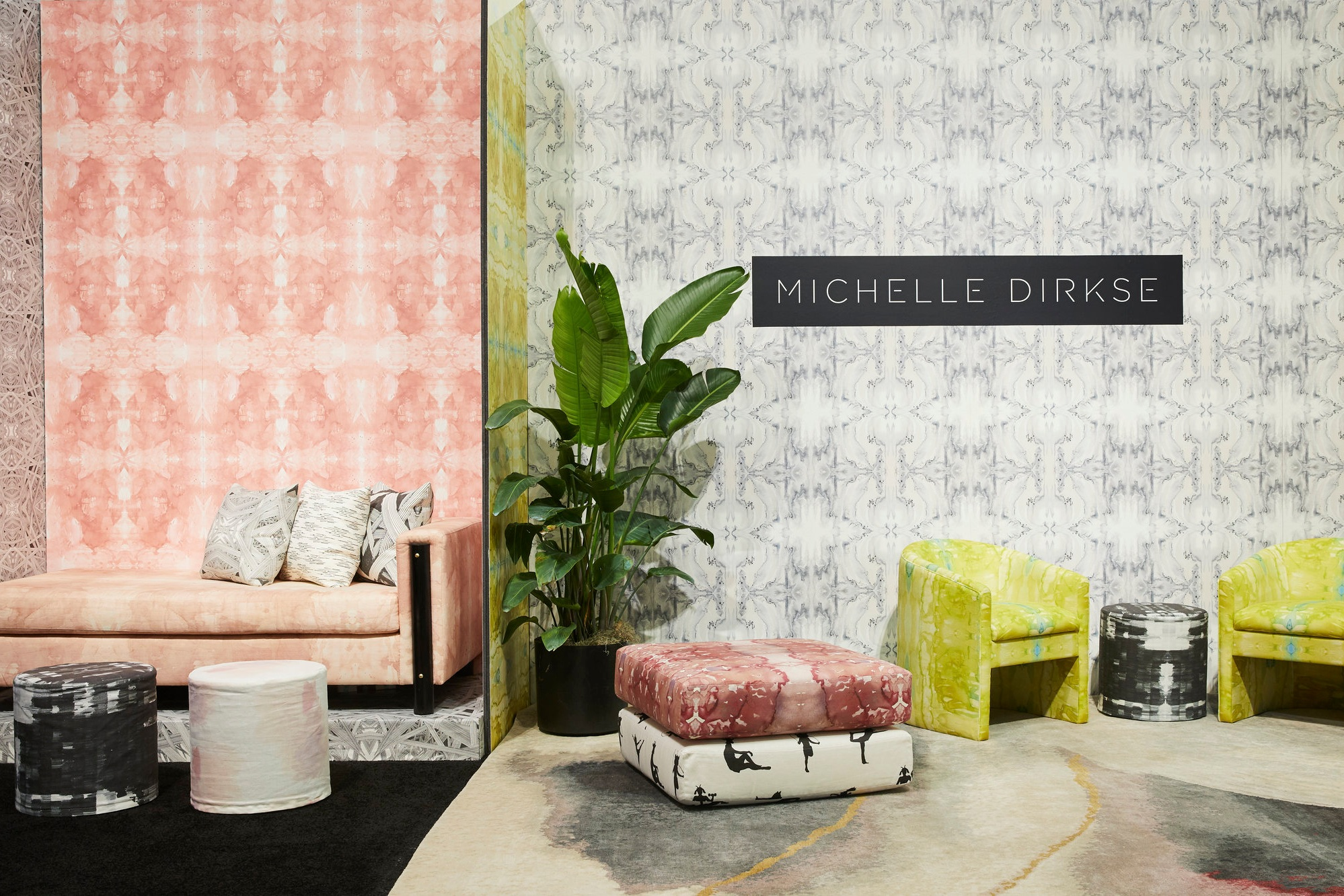 - Wallpaper, Fabric and Rug Collection by Michelle Dirkse