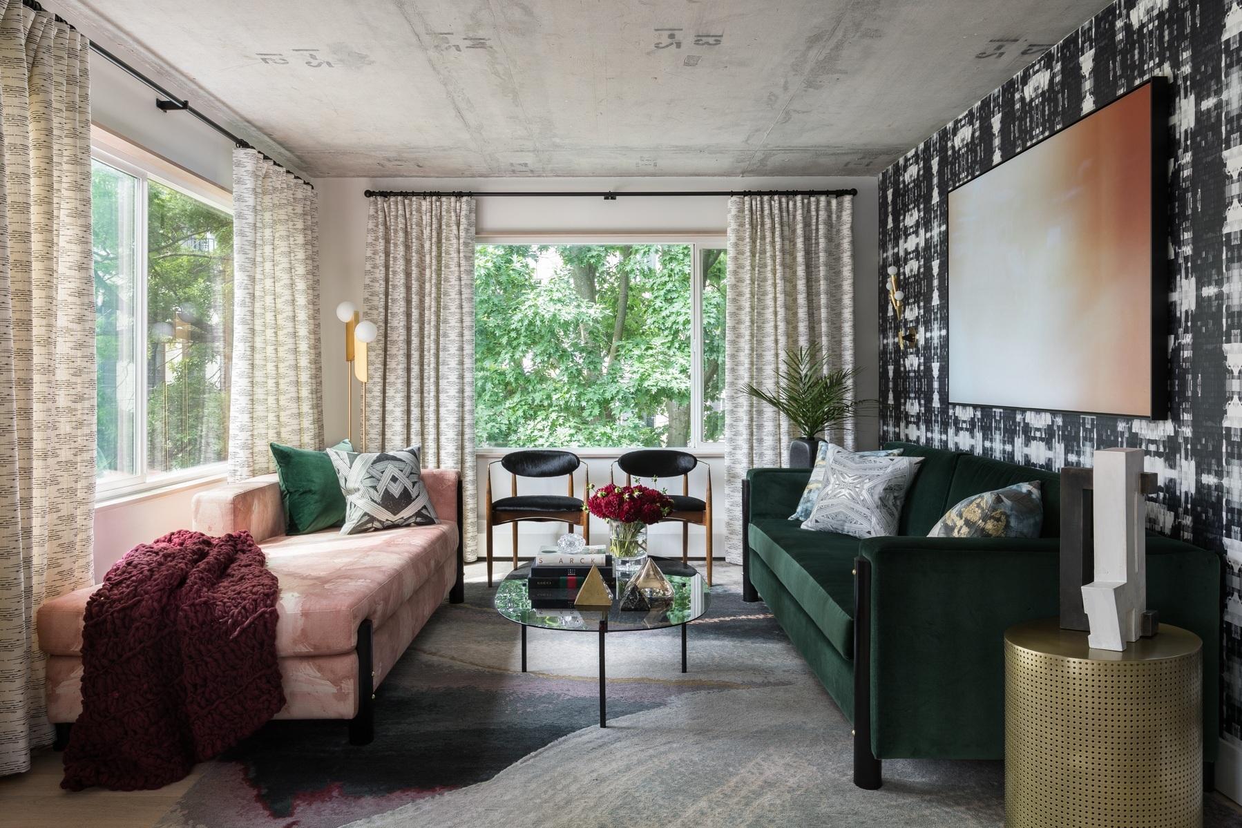 - Maximalist Mid-Century Condominium