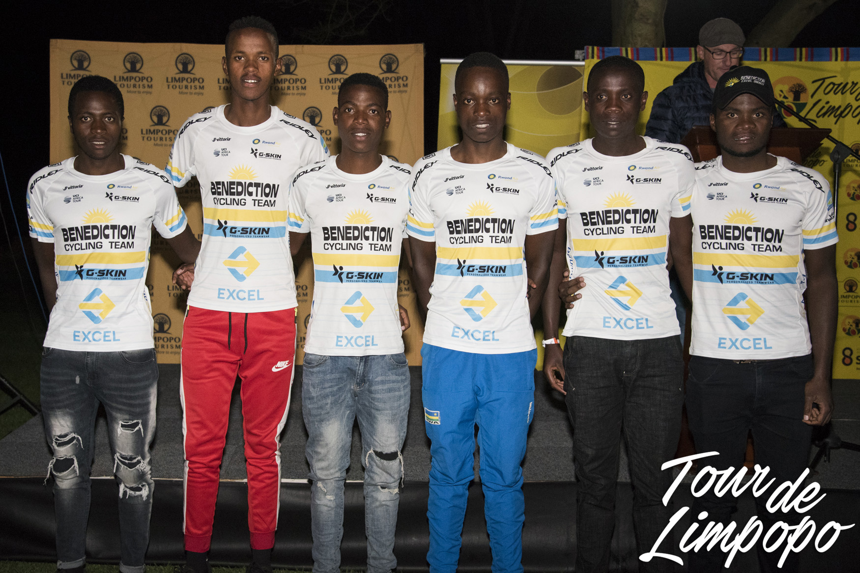 Rwanda's first UCI Continental team - Benediction Cycling Team - will be tackling the 2019 edition of the Tour de Limpopo (UCI 2.2) from 14-18 May © TourdeLimpopo/Boogs Photography