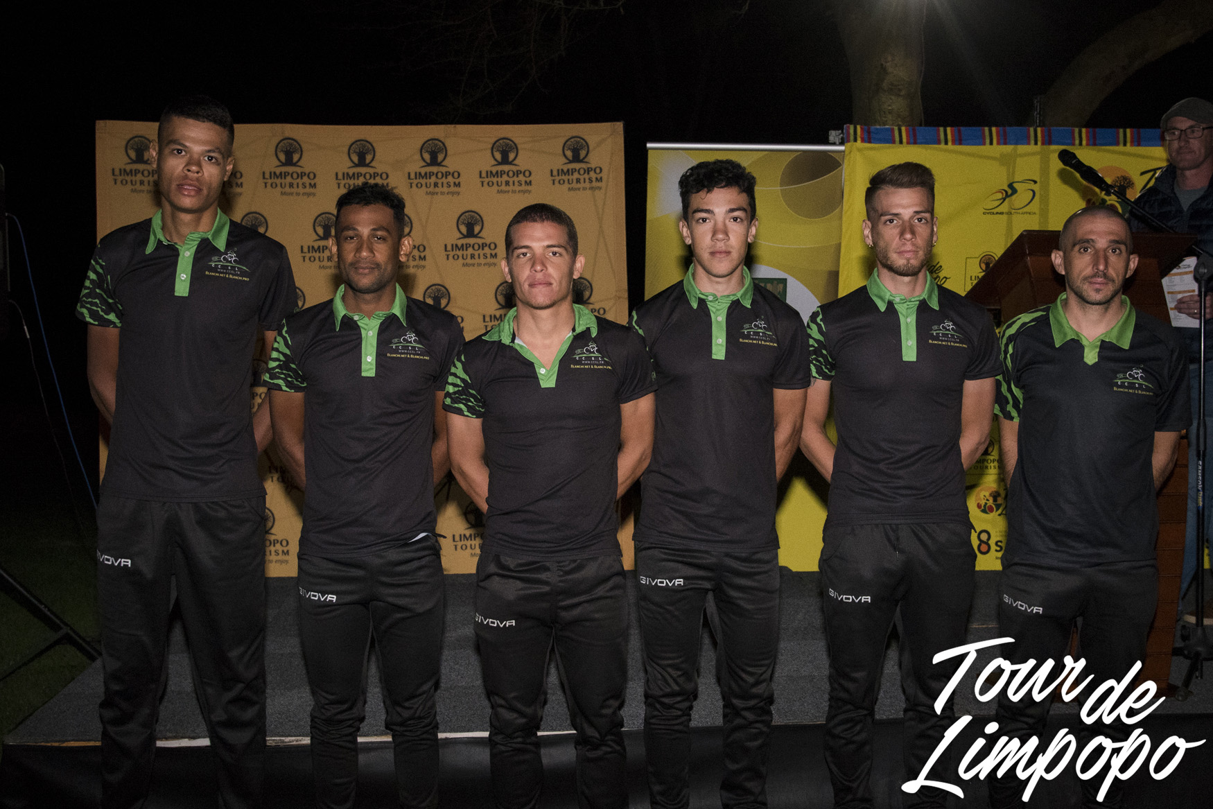 Club Cycliste Saint-Louisien from Reunion is ready to experience the competition against African and international at the 2019 edition of the Tour de Limpopo (UCI 2.2) from 14-18 May © TourdeLimpopo/Boogs Photography