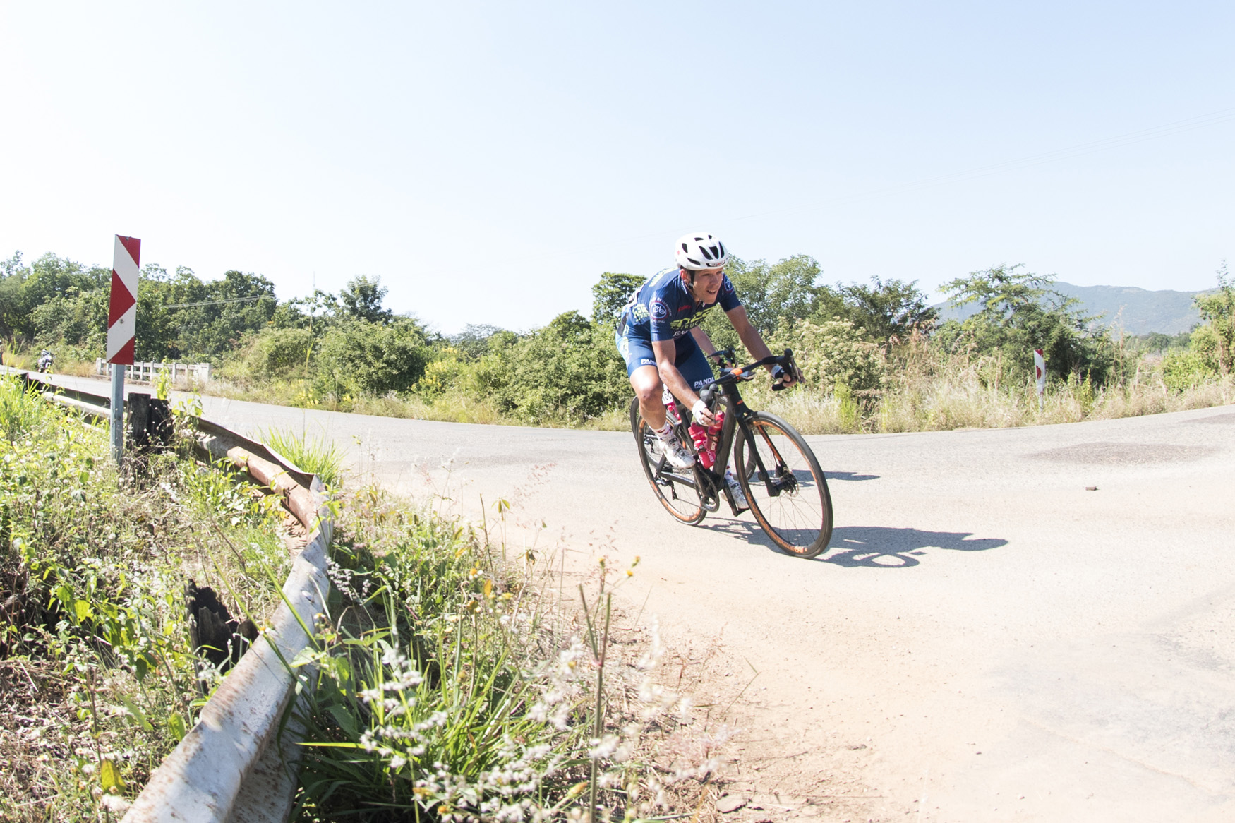 David Maree (Proud Beginners) was involved in the thick of the action at the front of the race again from Tzaneen to Old Coach Road, Mt. Agatha, on Stage 3 of the 2019 Tour de Limpopo (UCI 2.2) from 14-18 May © Tour de Limpopo/Andrew Mc Fadden