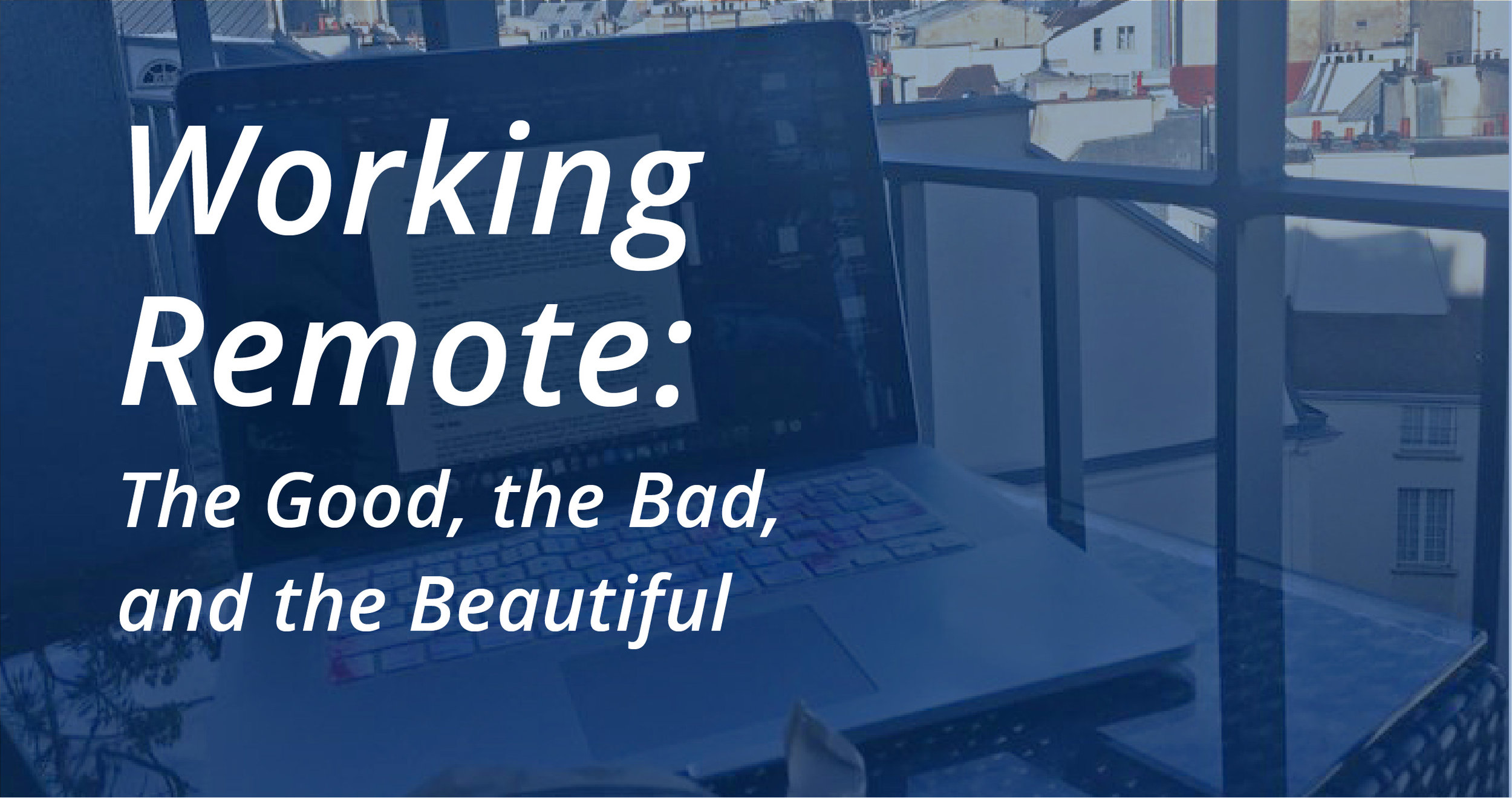 Working Remote by Current 120, Traverse City's website design and branding agency.