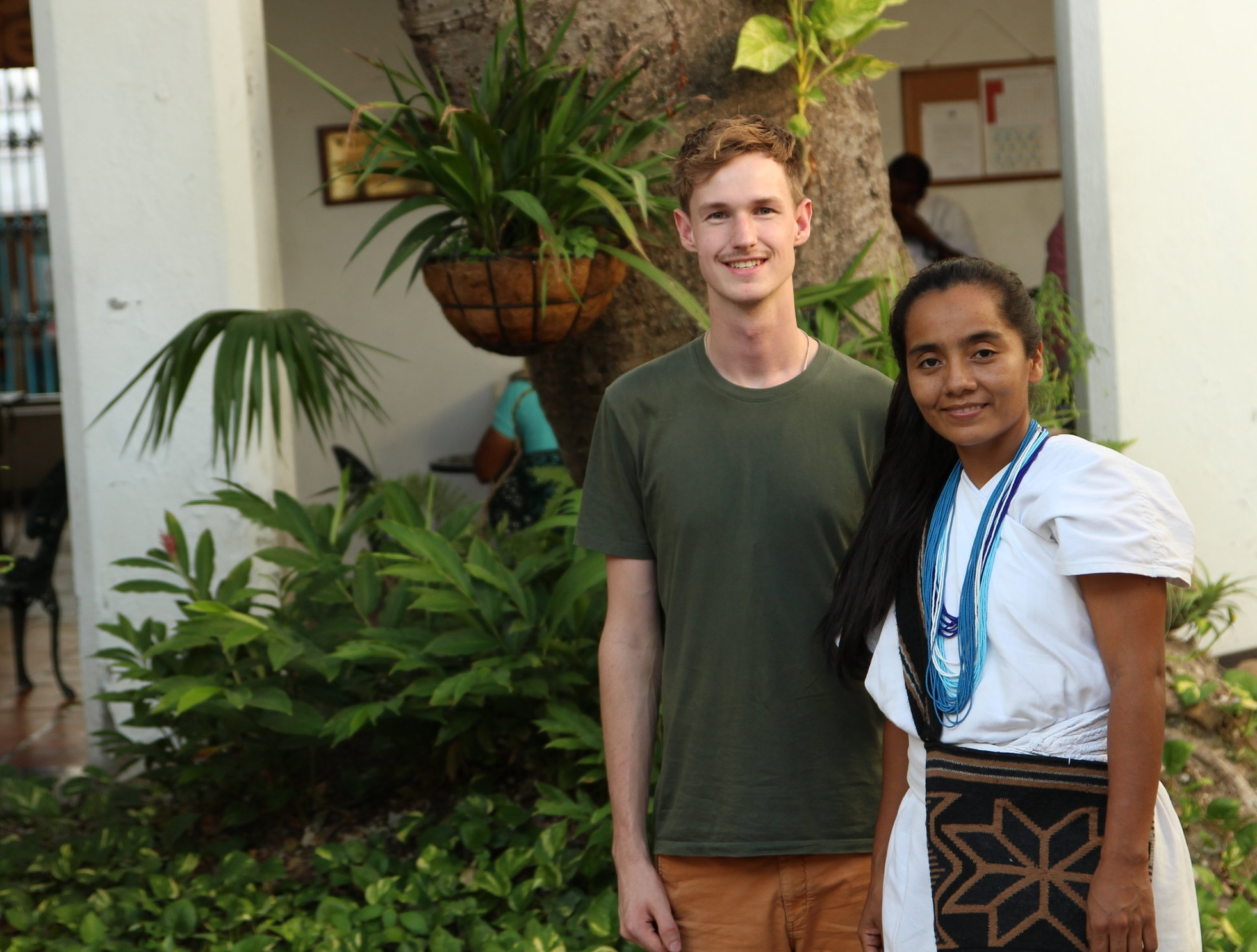 Meeting between Beyond Sustainable and Wirakoku- Santa Marta, Colombia