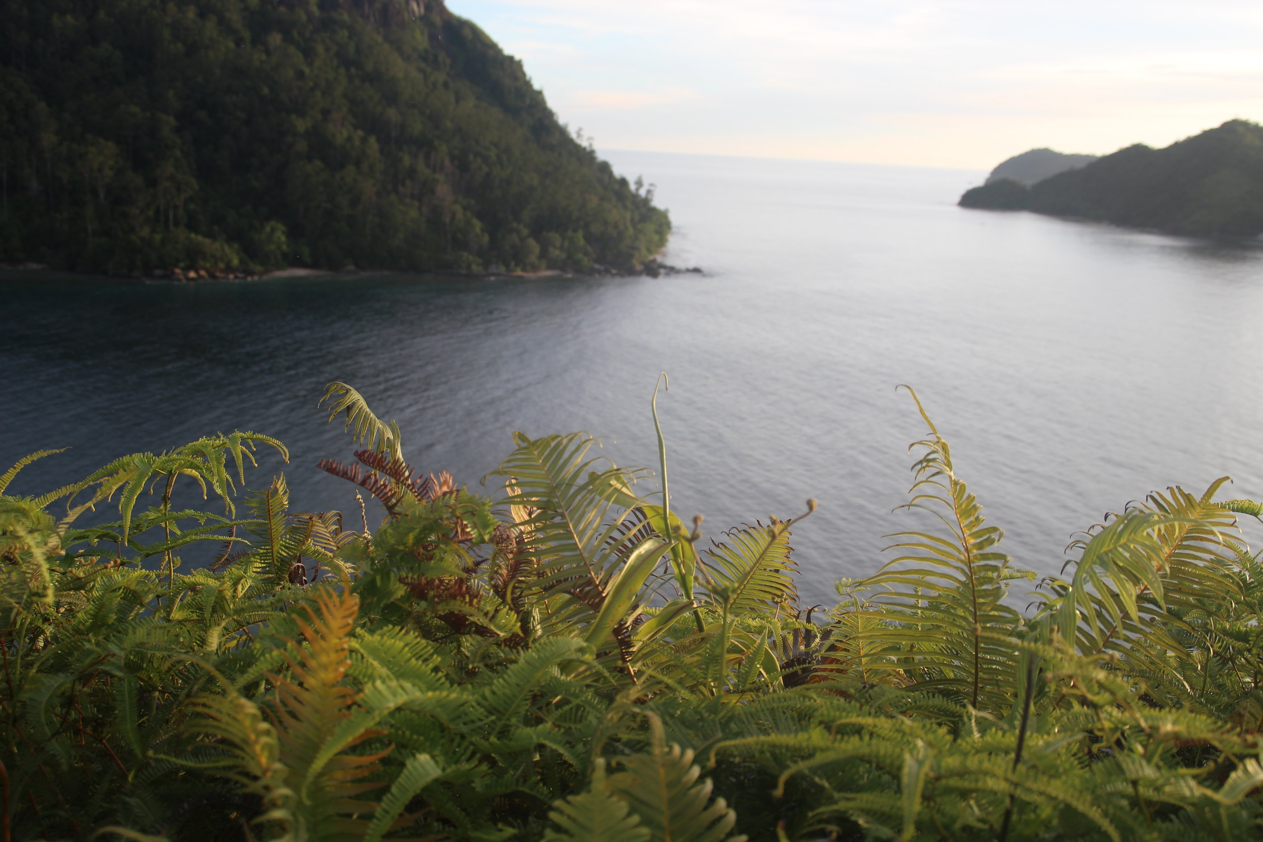 Parang, Sumatra, Indonesia- Tropical ocean view