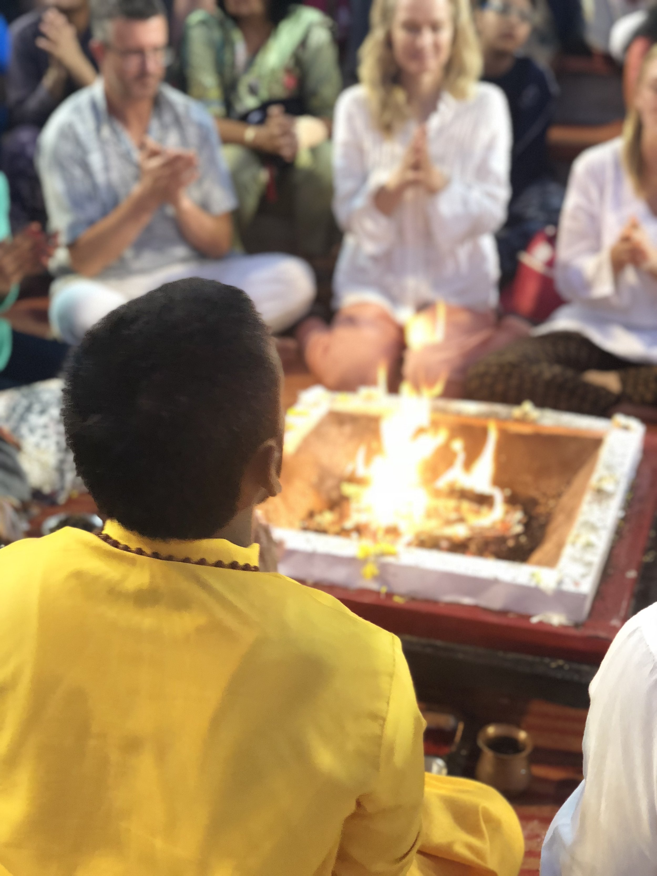 Aarti on the Holy Ganges River