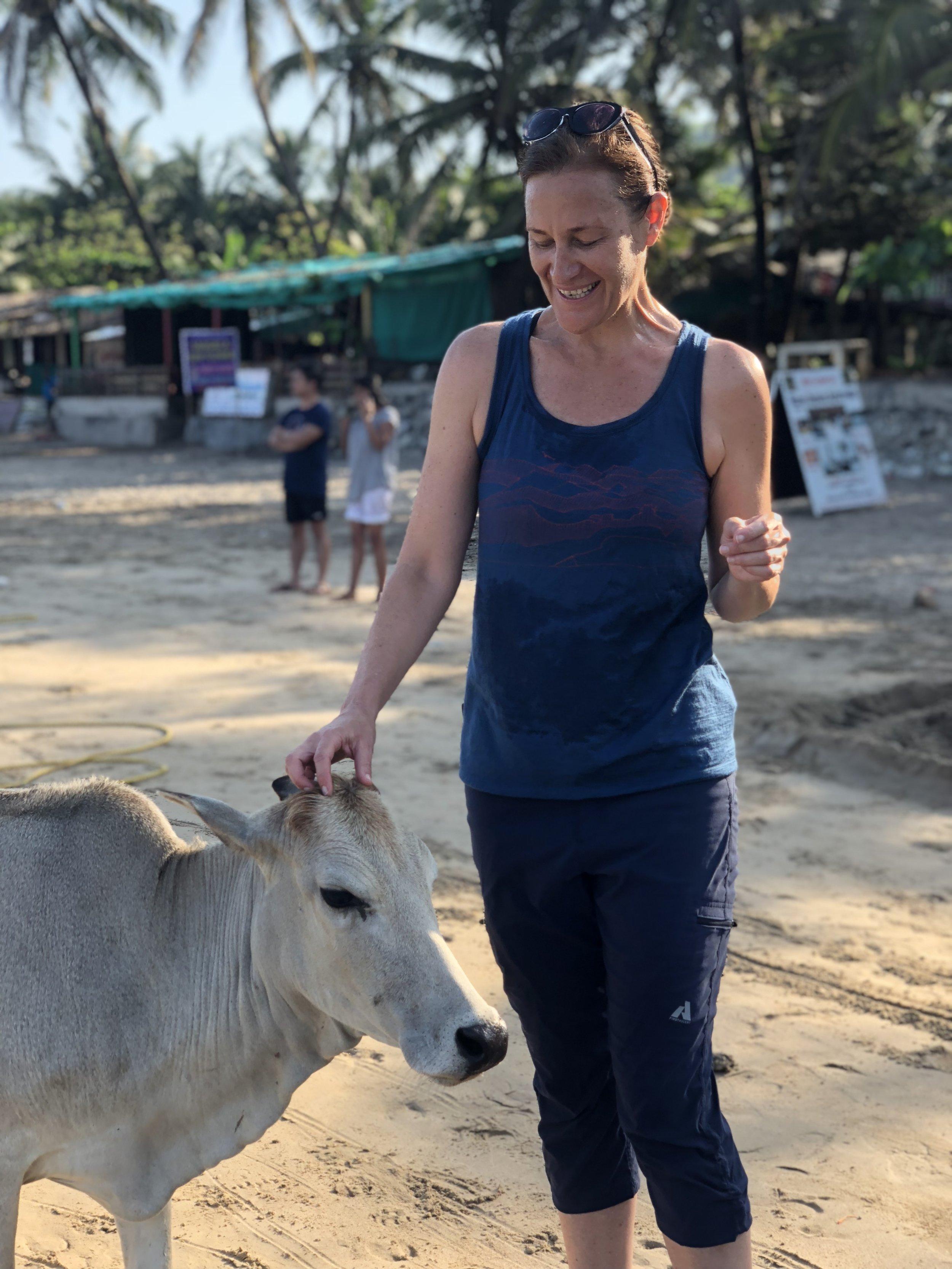 Annie Wyatt in India