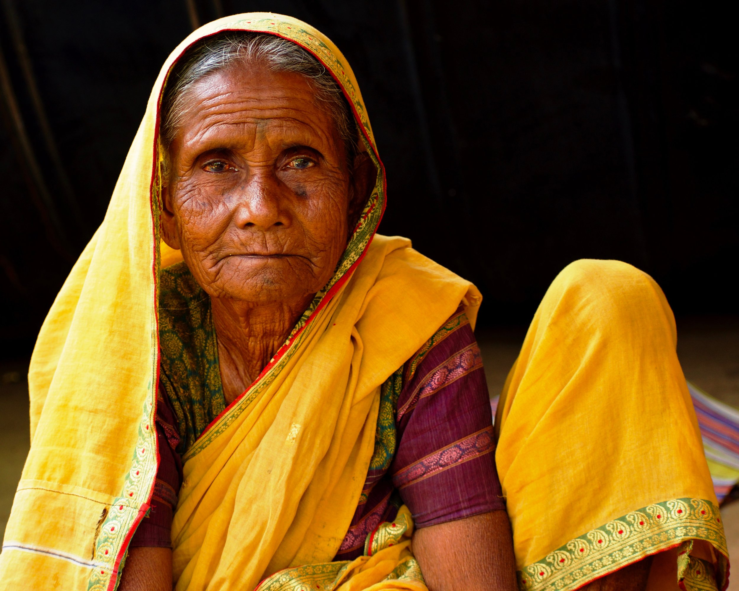 Indian Woman in a sari