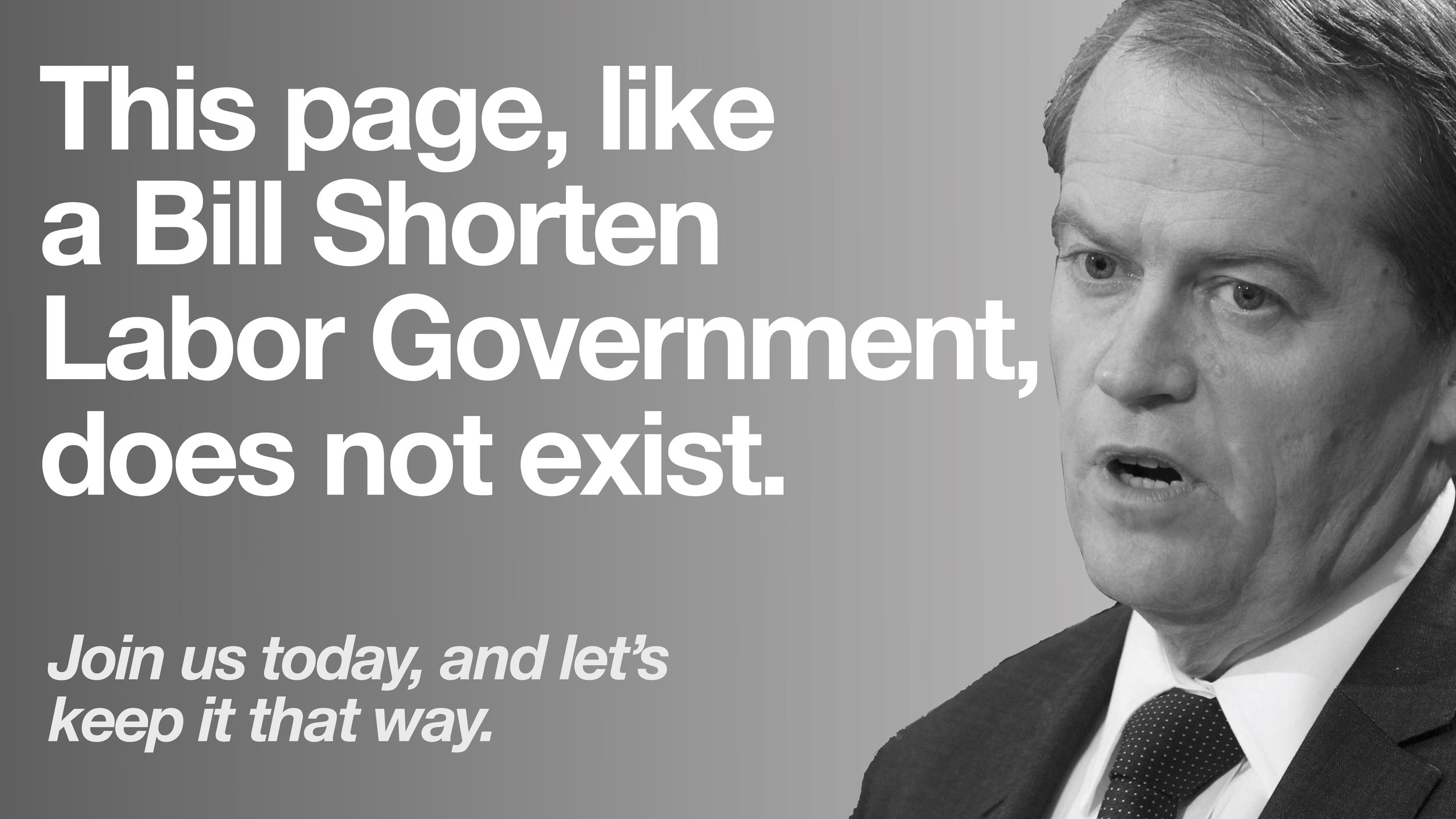 Bill Shorten UTAS Liberals