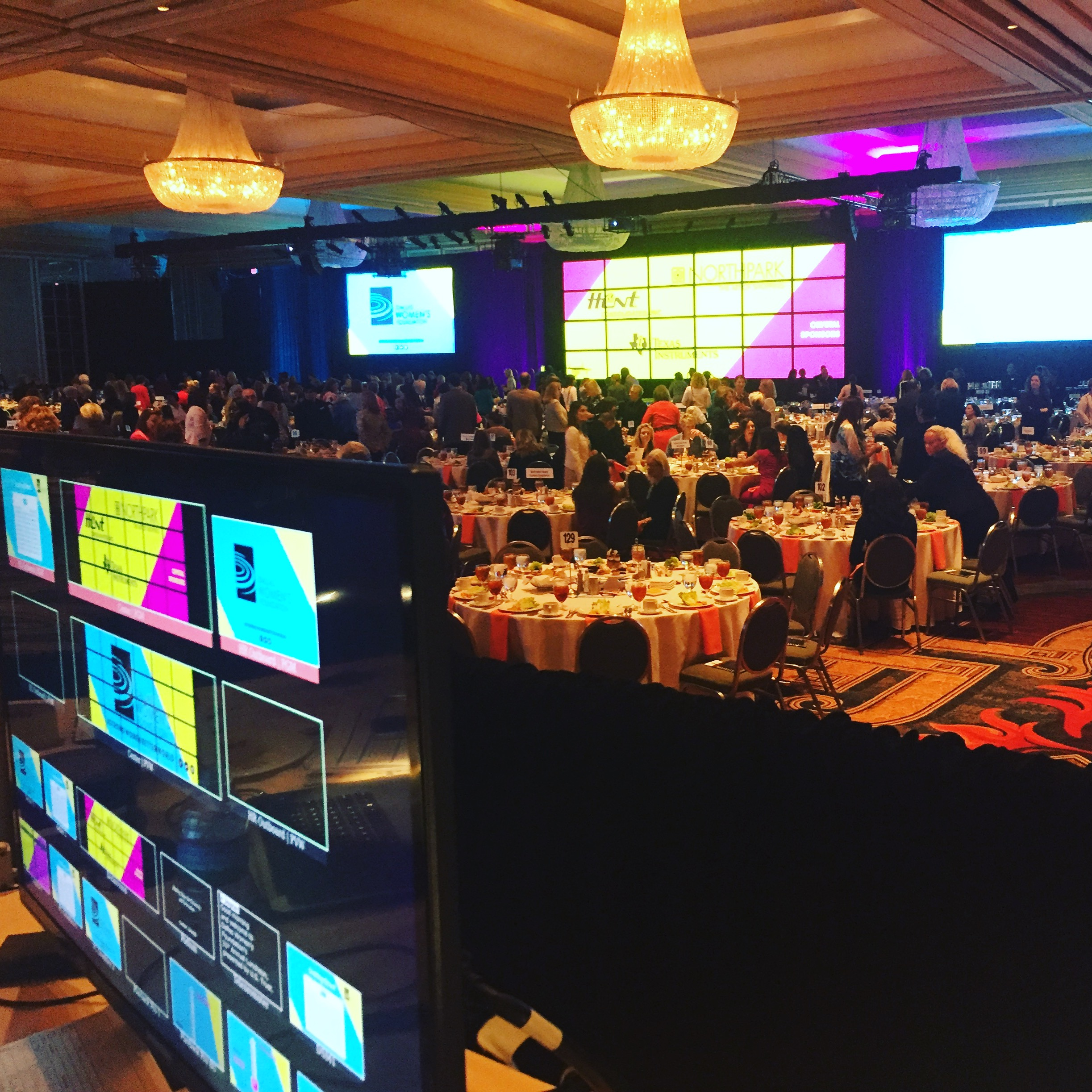 Dallas Women's Foundation Luncheon, Photo courtesy of Public City.