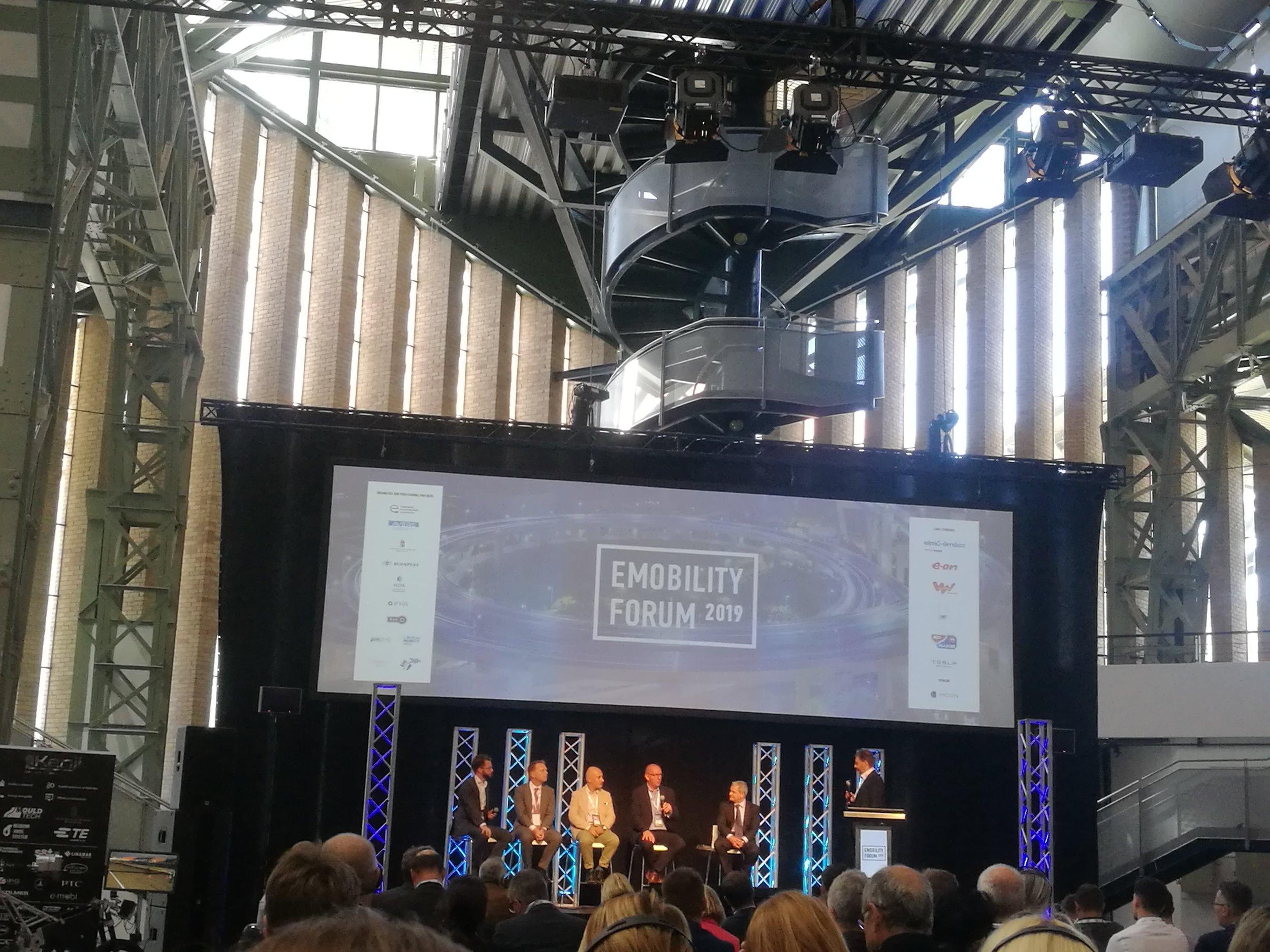 e-mobility forum panel discussion