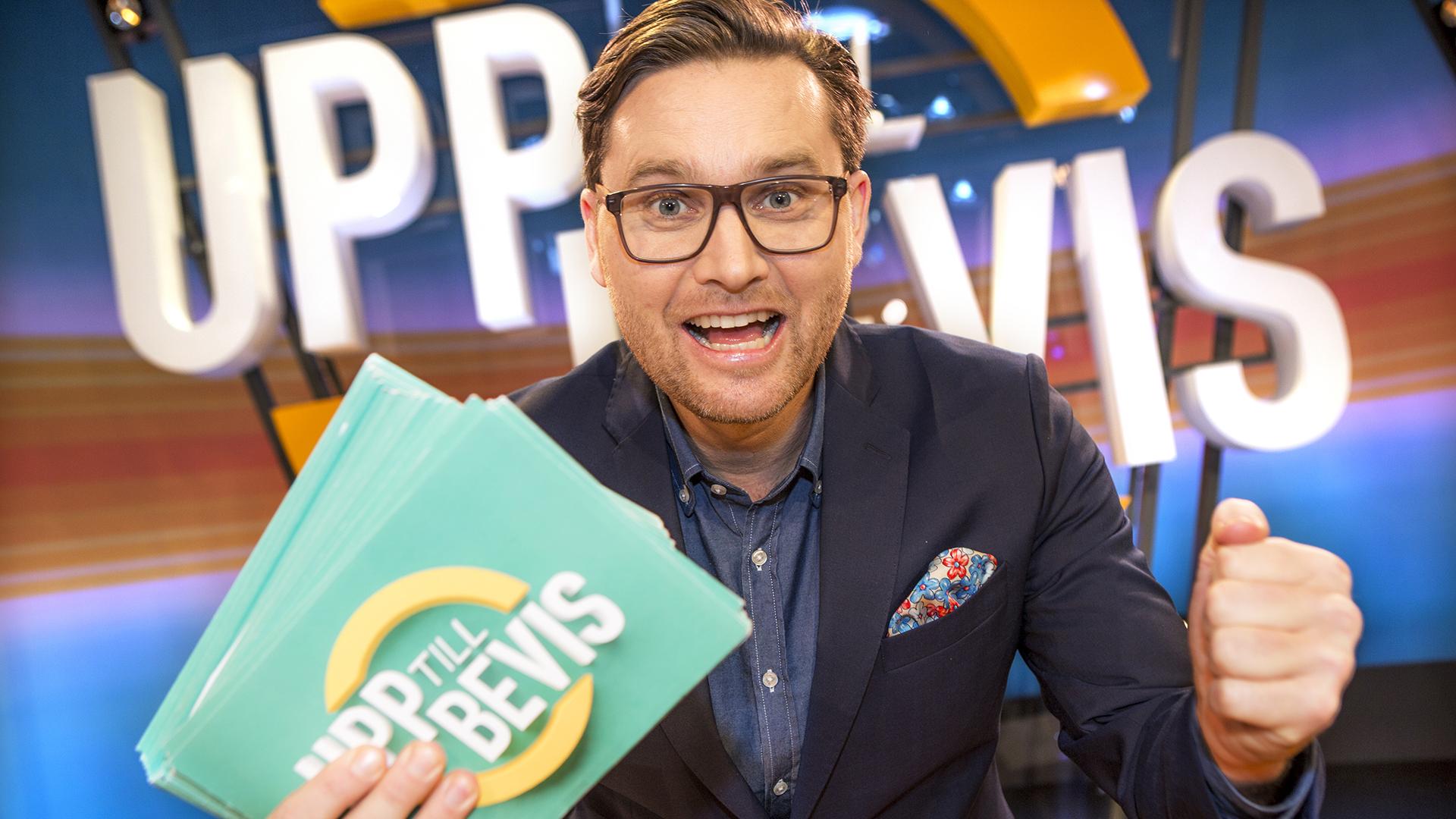 SVT Upp till bevis  Foto: Janne Danielsson/SVT
