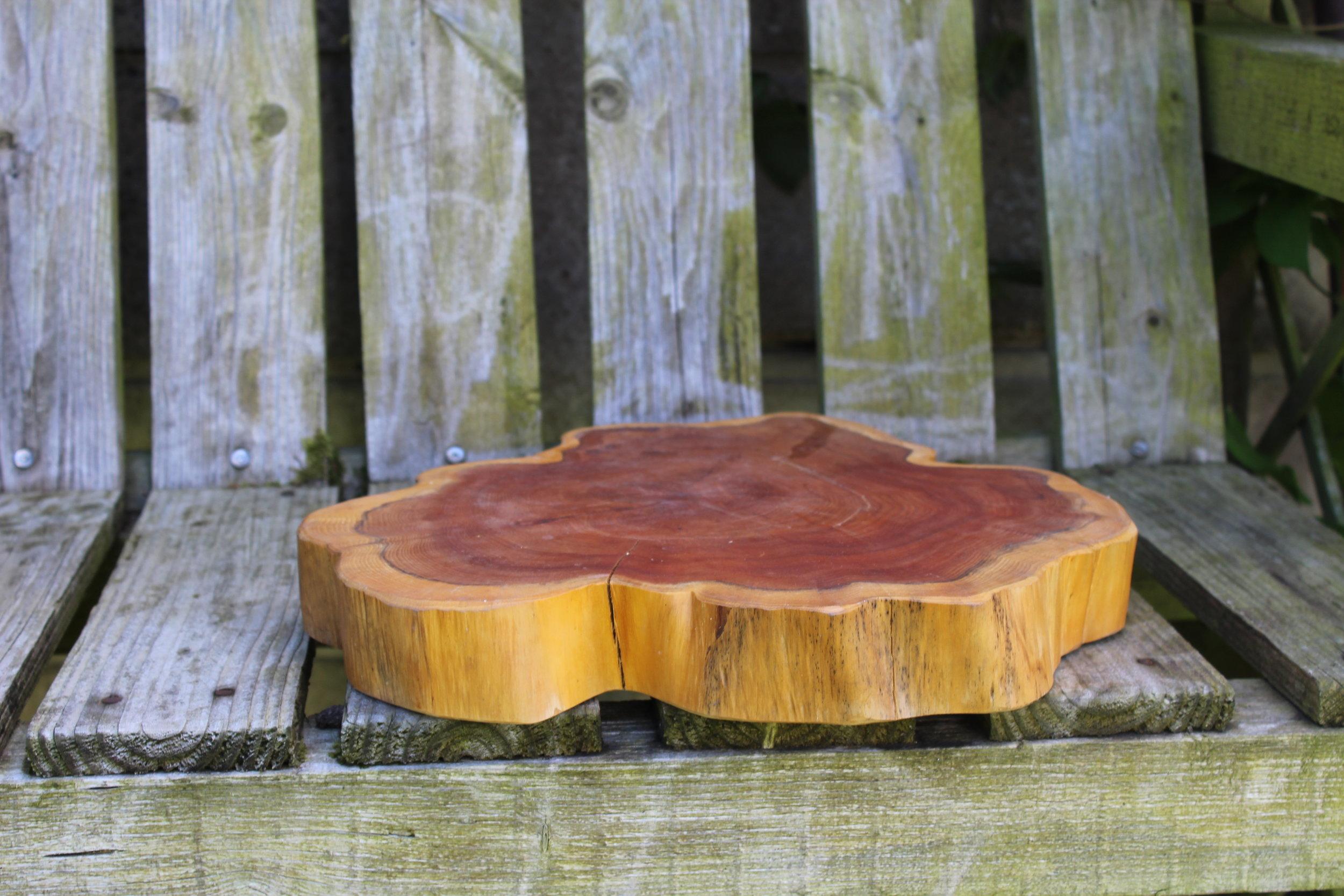- Wood Slice 13.5ӣ5