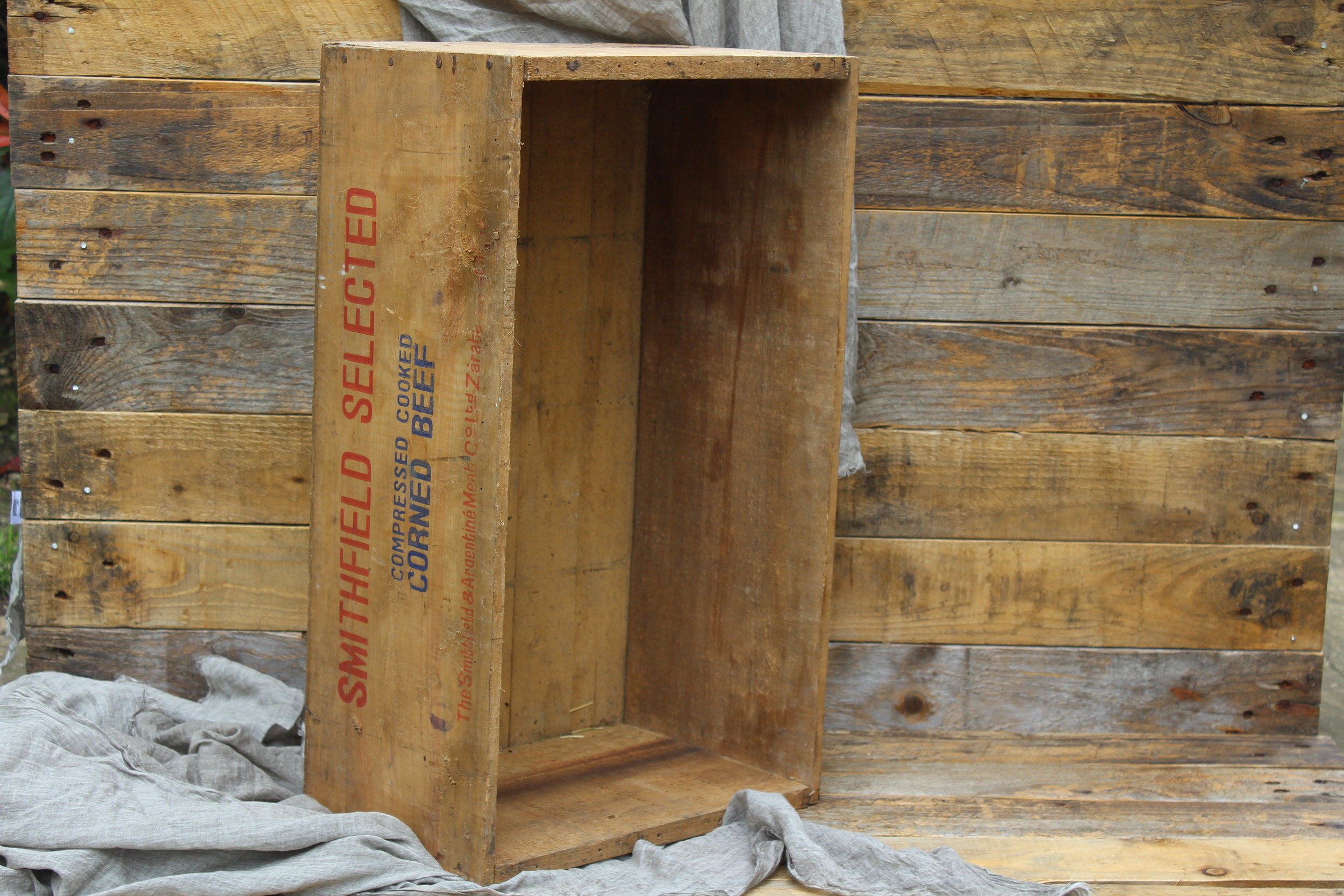 - Corned Beef Crate 58cm x 33cm£5