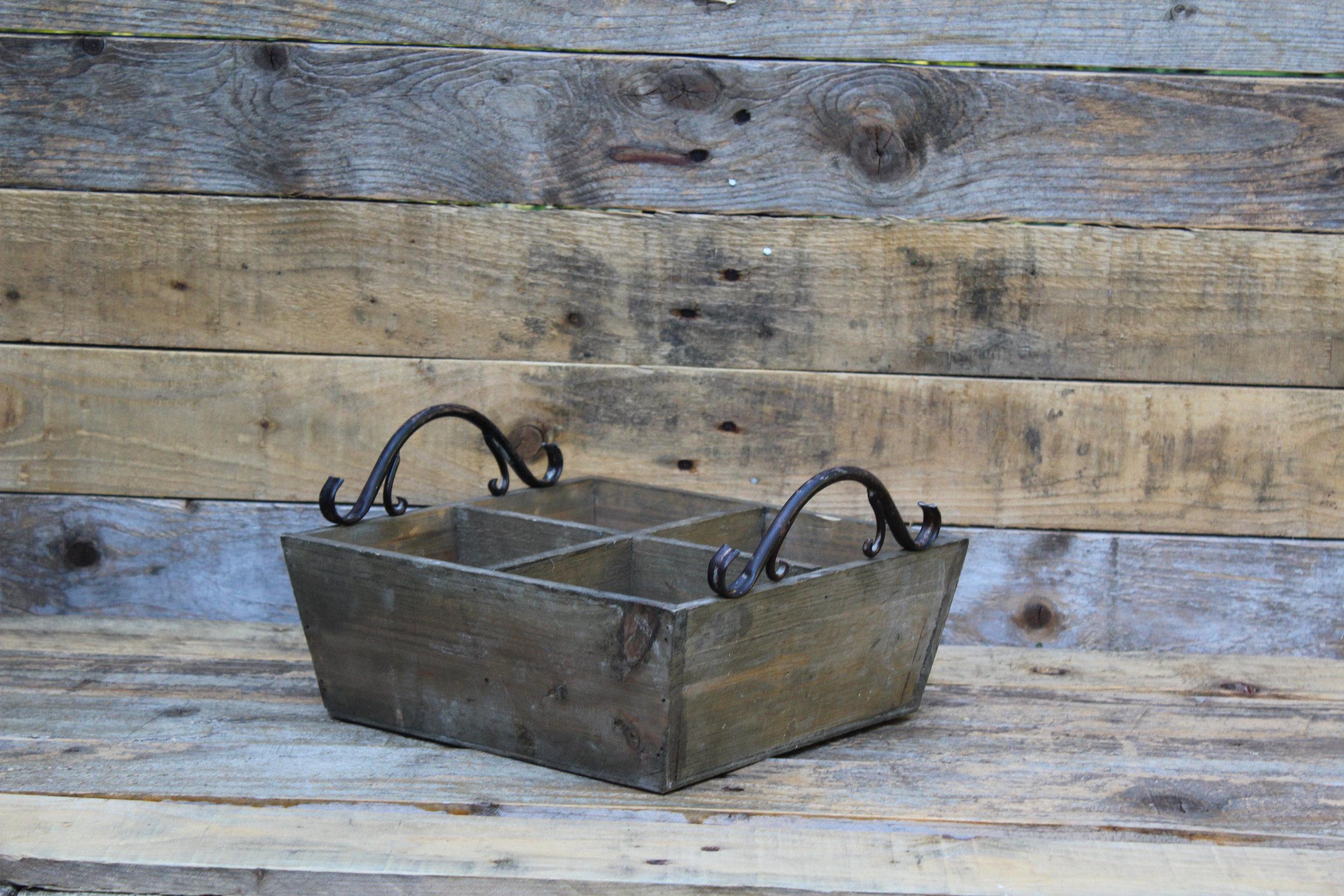 - Wooden Box20cm x 20cm £4