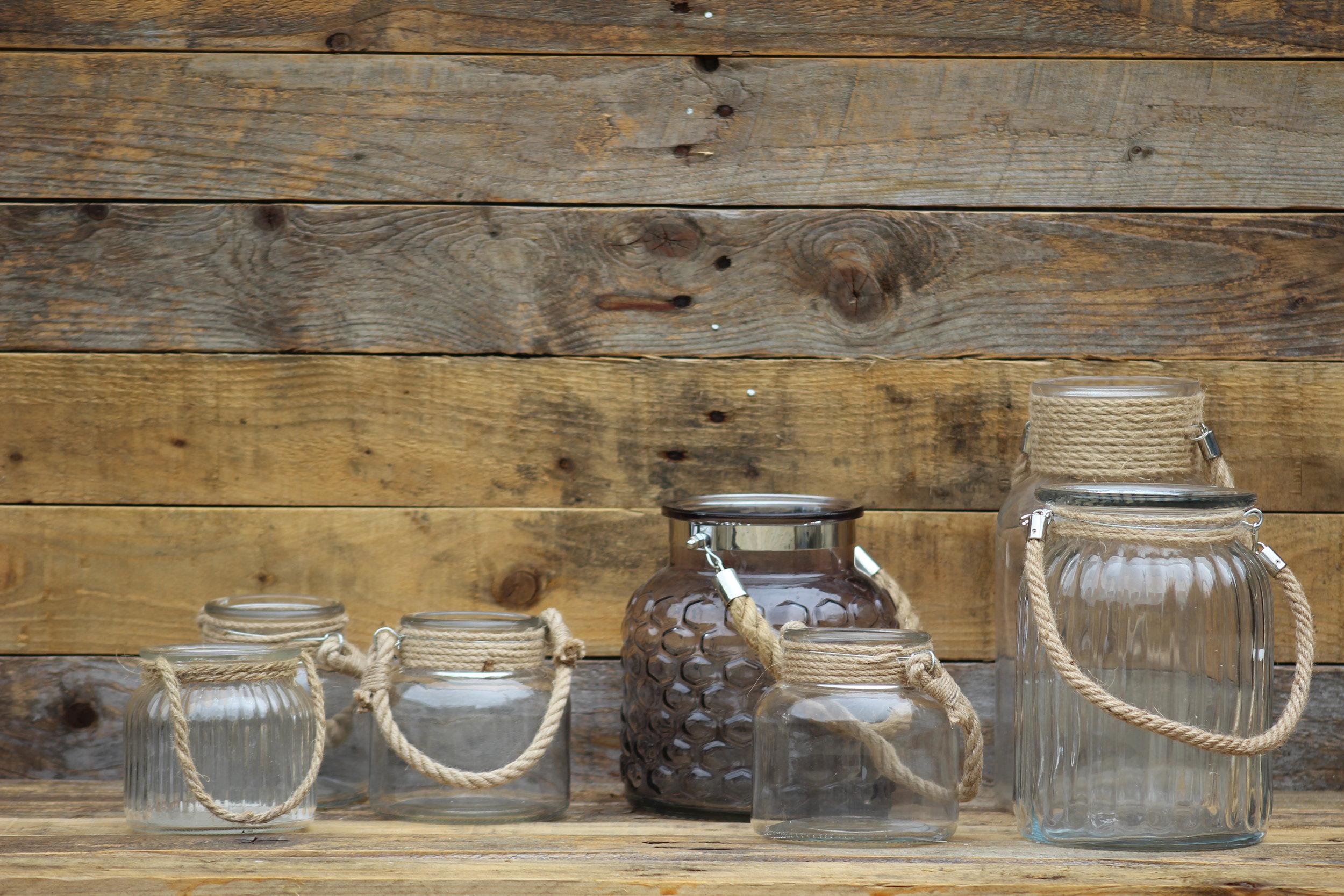 - Rope Handles jarsx7 various sizes/styles £1 each
