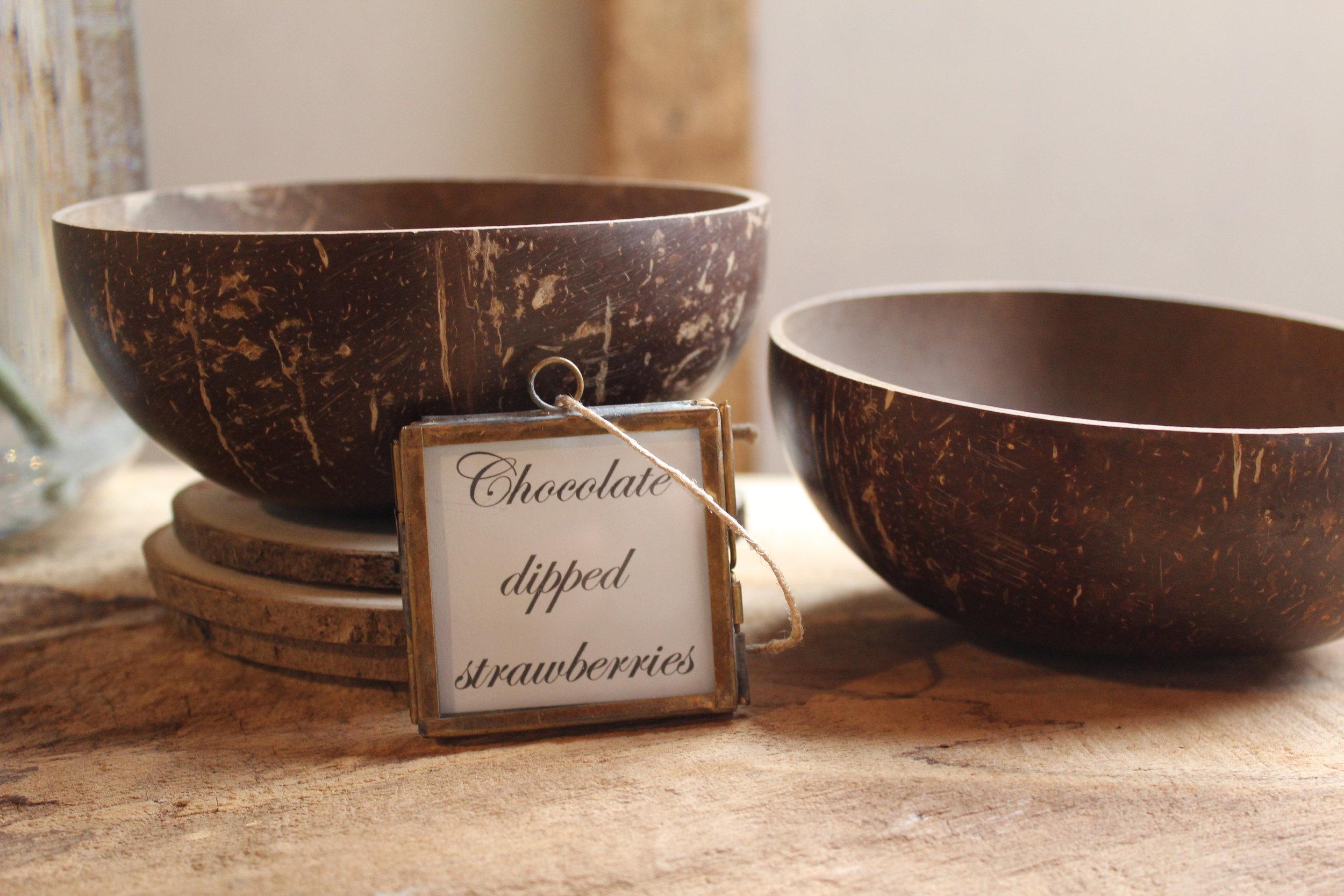 - Coconut Bowlsx8 £1.50 each