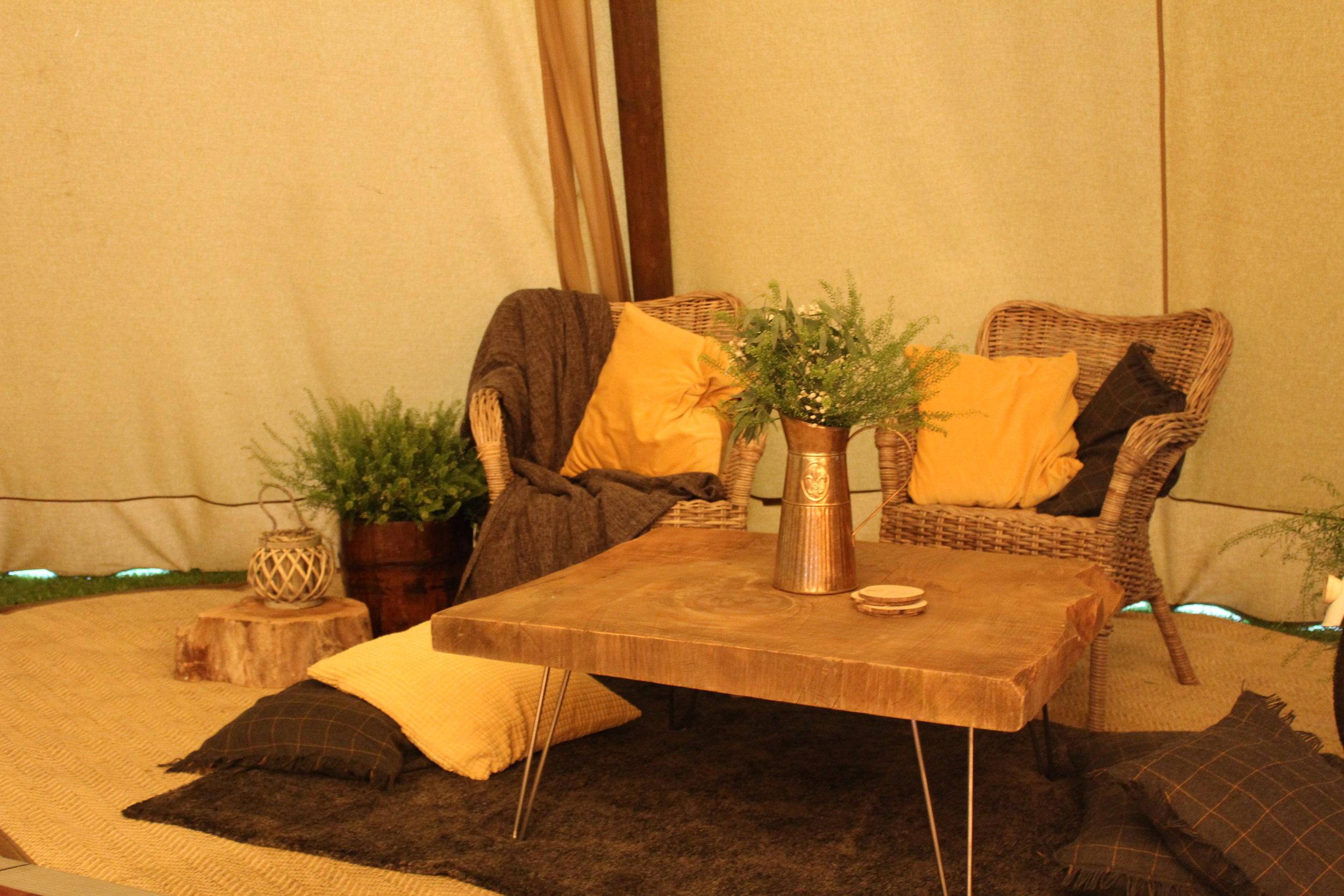 - Wicker armchairsx2 £20 each