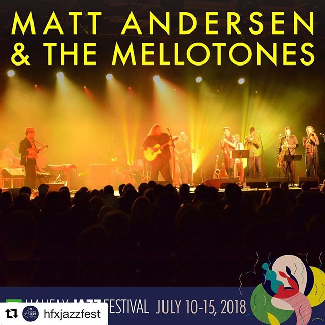 #Repost @hfxjazzfest  Day two of the 💃 Chaka Khan, and 🎸@mattandersenmusic & @themellotones 🎺 pre-sale is on! Sign up for @hfxjazzfest newsletter to receive your code and ticket link here: www.halifaxjazzfestival.ca/newsletter 🕺✨ #HJF2018 #chakachakachakakhan