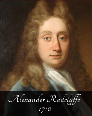Alexander Radclyffe - 1710 - The start of the 1700s saw the Estate pass to Alexander Radclyffe who pulled down the old manor house and built the Classical building in brick that stands to this day.He was aware of the troubled times as his father had been shot dead in a duel over politics and it is his choice to back the new Hanoverian King that lead to his survival whilst others in the family went to the scaffold for backing the Stuarts. The rest of the century saw the estate expanded through marriage whilst the area around Oldham saw the start of the Industrial Revolution.