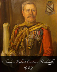 Charles Robert Eustace Radclyffe - 1909 - In the 1900s the family expanded the commercial side of the estate and my Grandfather, seen here in the Uniform of the 1st Life Guards, was the man who incorporated the estate as a company in 1935. It was his vision that helped it survive the disasters of the late 20th century. He and his three brothers all fought in the World War I and in due course members of the family also fought in World War II.In 1923 the grounds of the House were opened to the public and leased to the Chadderton Town Council. Finally the House itself was sold to the council in 1960.