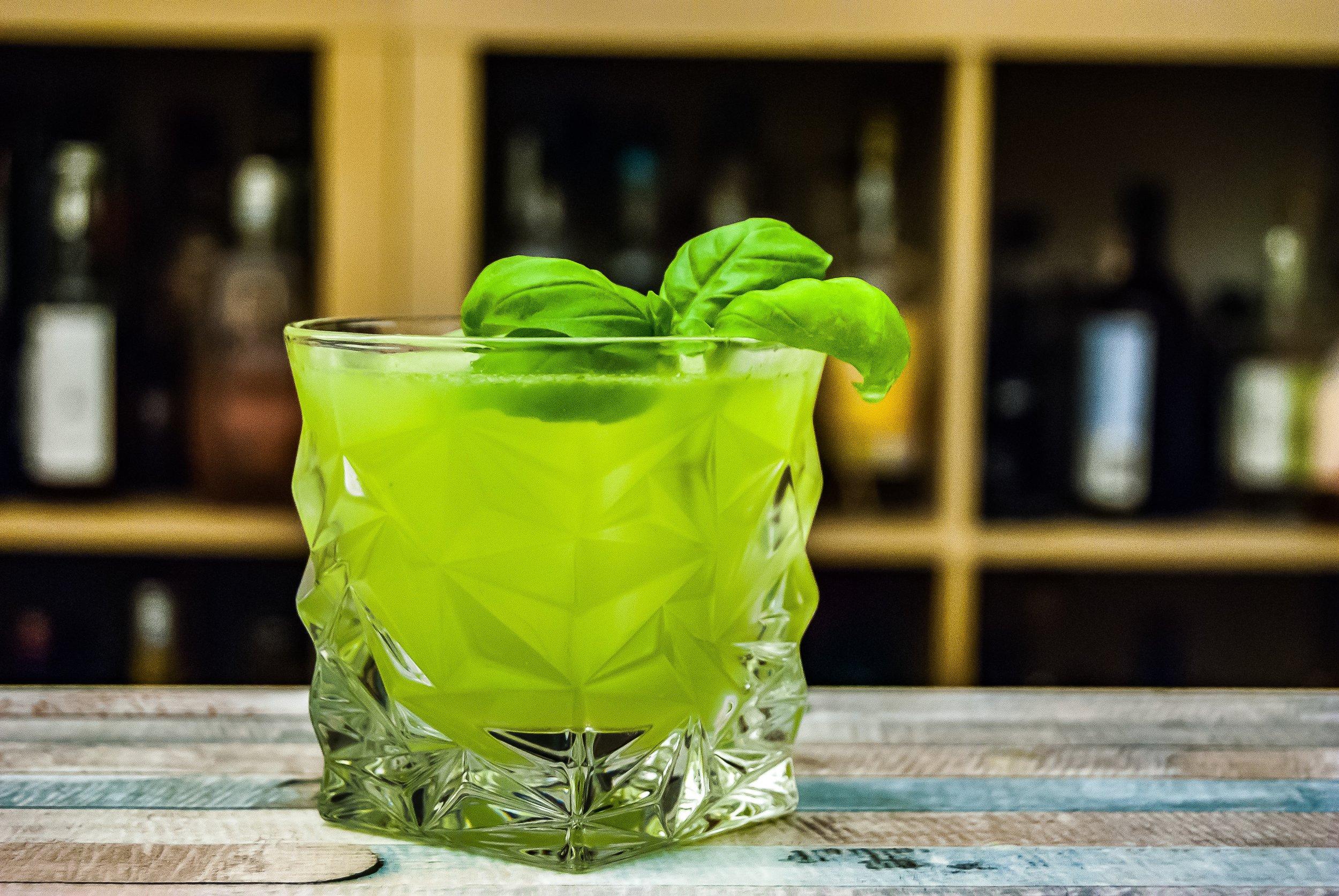 Gin & Basil Smash -