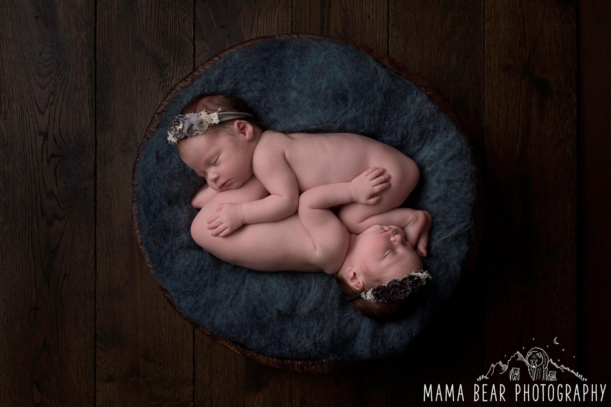 Twins Newborn Photographer Lincoln