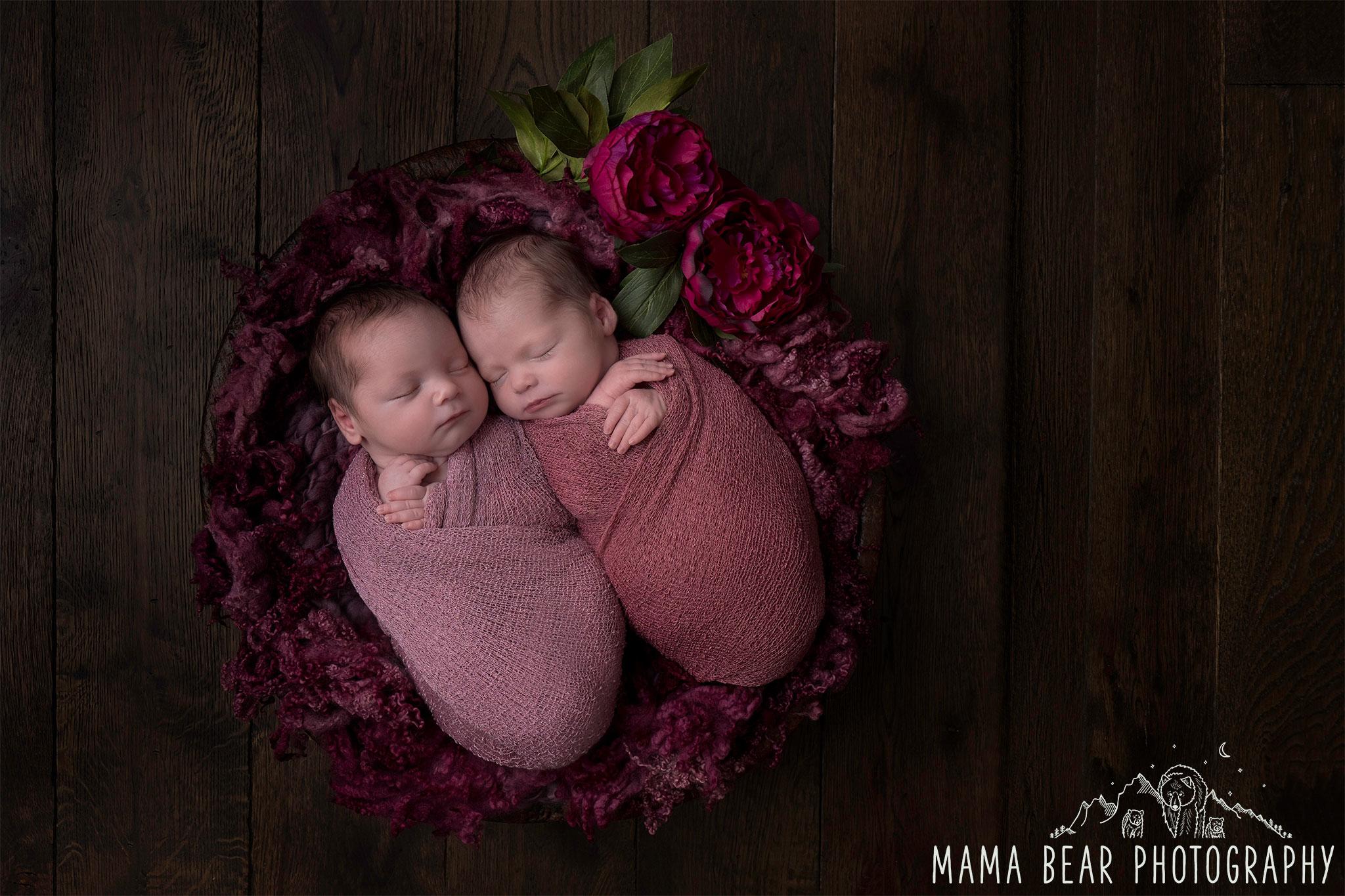 Newborn Twins Photography Lincoln
