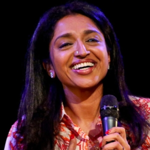 sindhu vee - world's worst wife - One of the brightest and quickest rising stars on the UK stand-up comedy circuit, Sindhu Vee knows a thing or too about wifing and is not afraid to share them! Together we delve into the world of ancient history, hillbilly America, Hollywood and the deepest depths of the ocean to find the world's worst wife. There are tales of record-breaking matrimony, cannibalism, 12 hours near-fatal sex sessions and skiing mishaps.Photo from We Are Funny Project