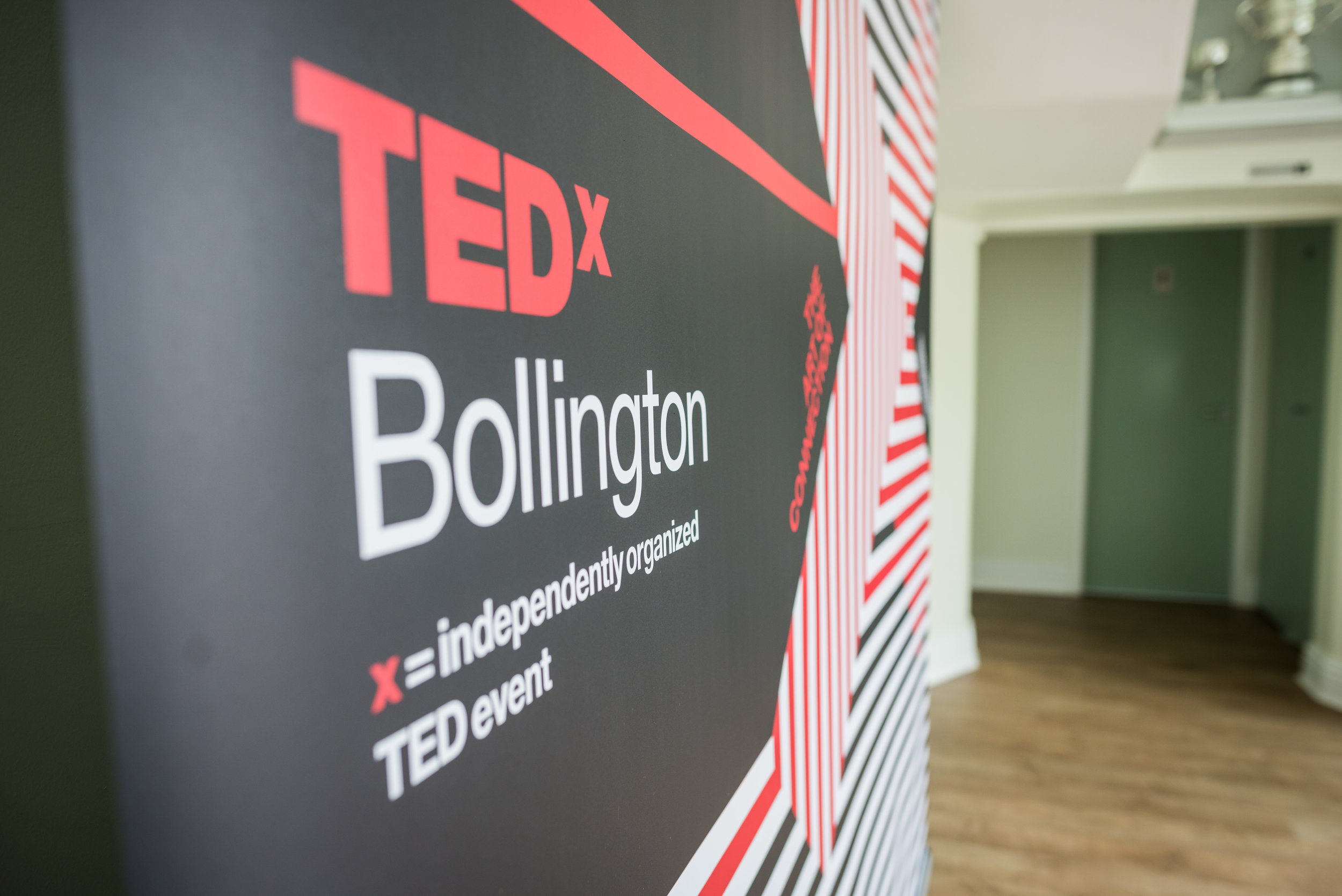 PHOTO: MARTIN HAMBLETON; TEDx BRANDING BY VISUAL SENSE