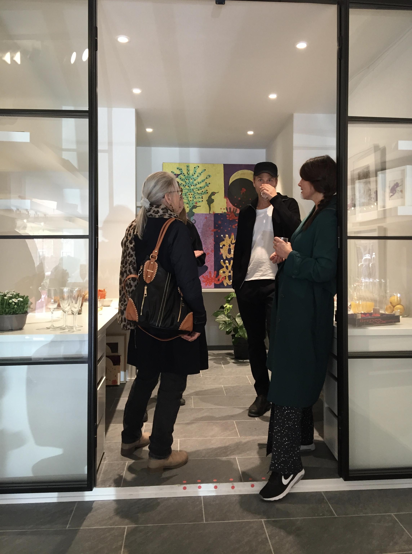 Le Studio 5 en plats för dig som är nyfiken på konst och nya idéer. VÄLKOMMEN! -