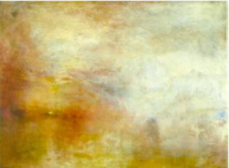 """""""Jag har inte målat för att det skulle bli förstått utan jag ville visa hur ett sådant skådespel ser ut"""" -JMW Turner"""