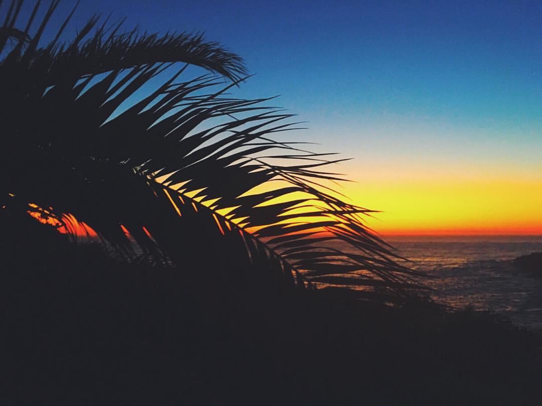 Sunrise over Bondi Beach, Sydney Australia.