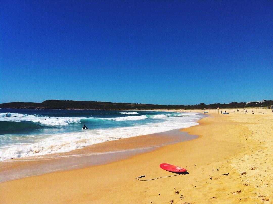 Maroubra Beach.