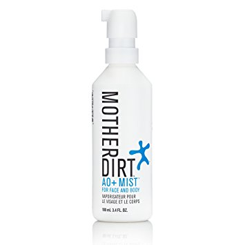 Mother Dirt is a probiotic enriched spray to reintroduce good bacteria onto the microbiome of your skin.