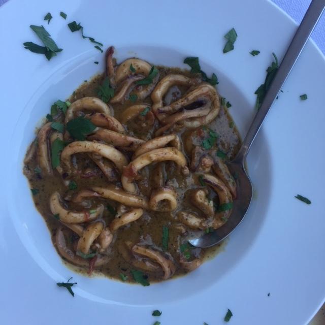 Pesto Calamari