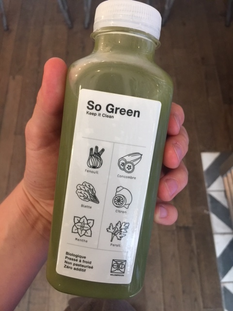 """The """"So Green"""" from Wild & Moon."""