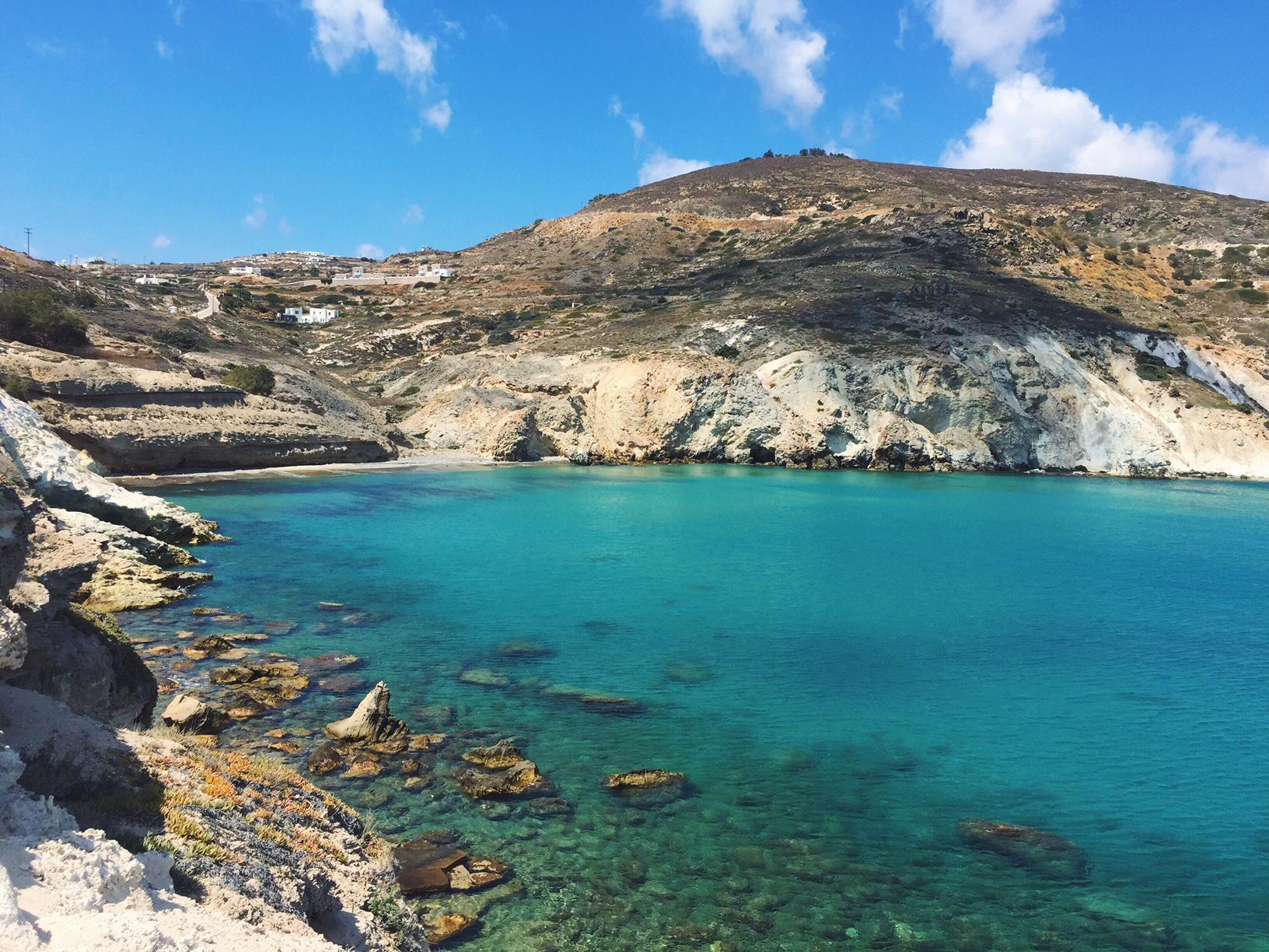 Mantrakia beach, Mìlos, Greece.