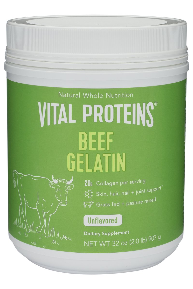 Beef gelatin: for thickening liquids, making gummies, gravy, etc. Click image for more info.