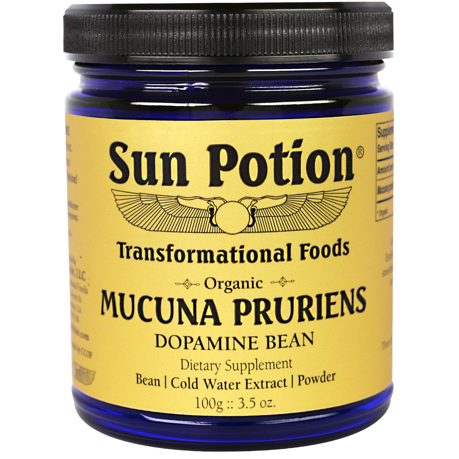 Mucuna Pruriens - Enhance Brain FunctionElevate Mood & Refine the SensesSoothe the Nervous SystemSupport Overall Well-being