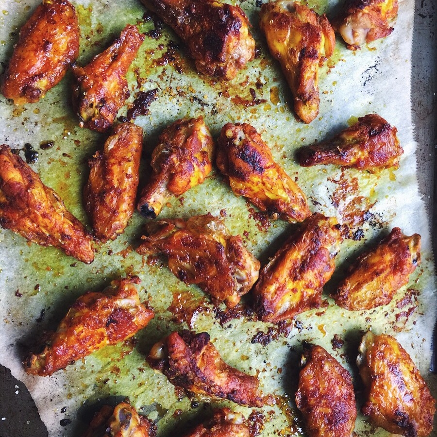 Spicy Chicken Wings -