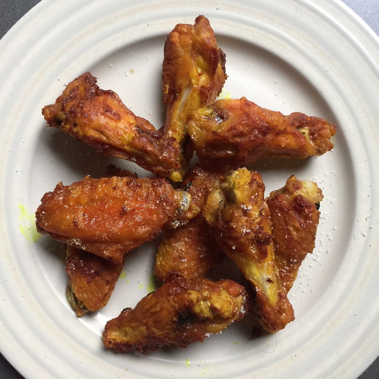 I've been keeping most of my meat au natural, but I do love turmeric oven roasted chicken wings! (Recipe at bottom of article).