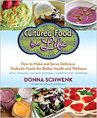 Cultured Food for Life: How to Make and Serve Delicious Probiotic Foods for Better Health and Wellness by Donna Schwenk (click  HERE  to learn more)